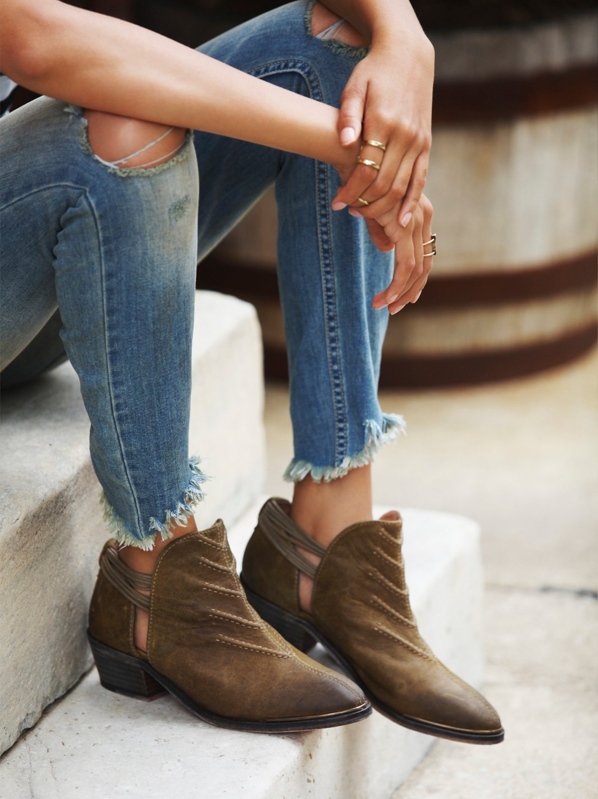 Southern Cross Ankle Boot