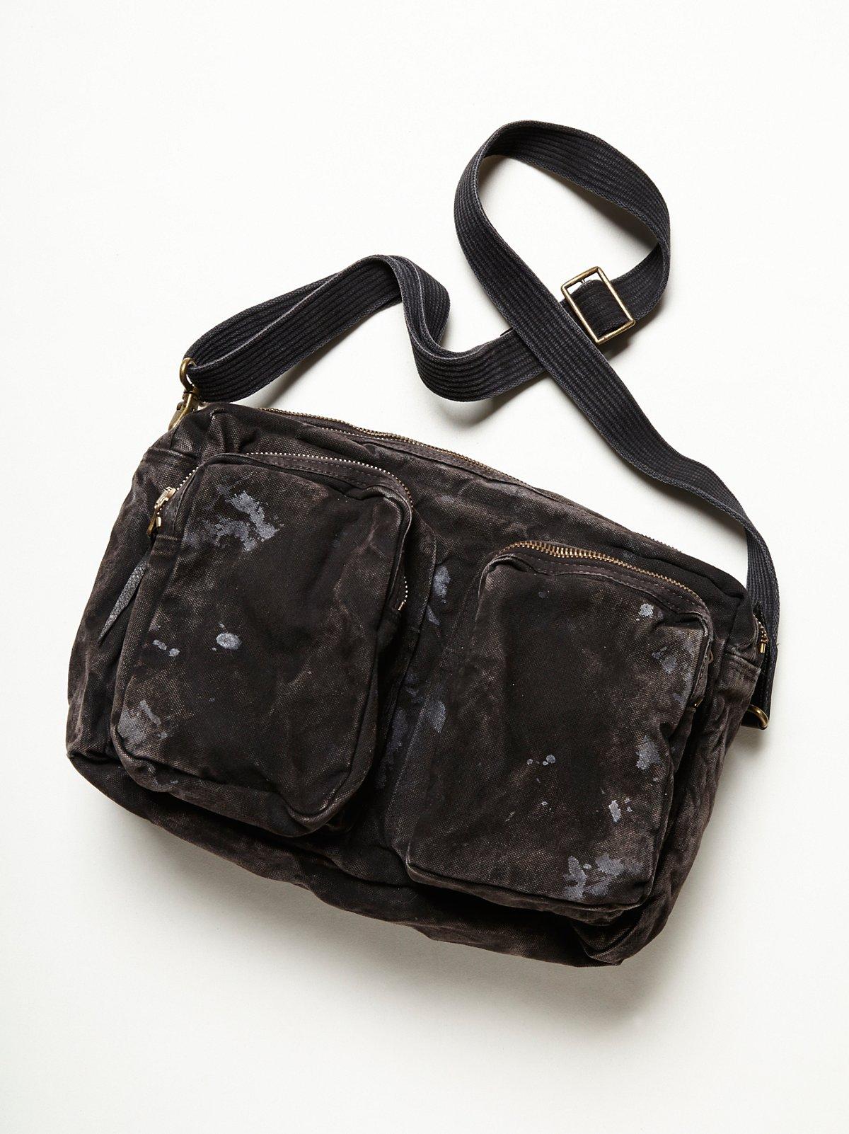 Distressed Camera Bag