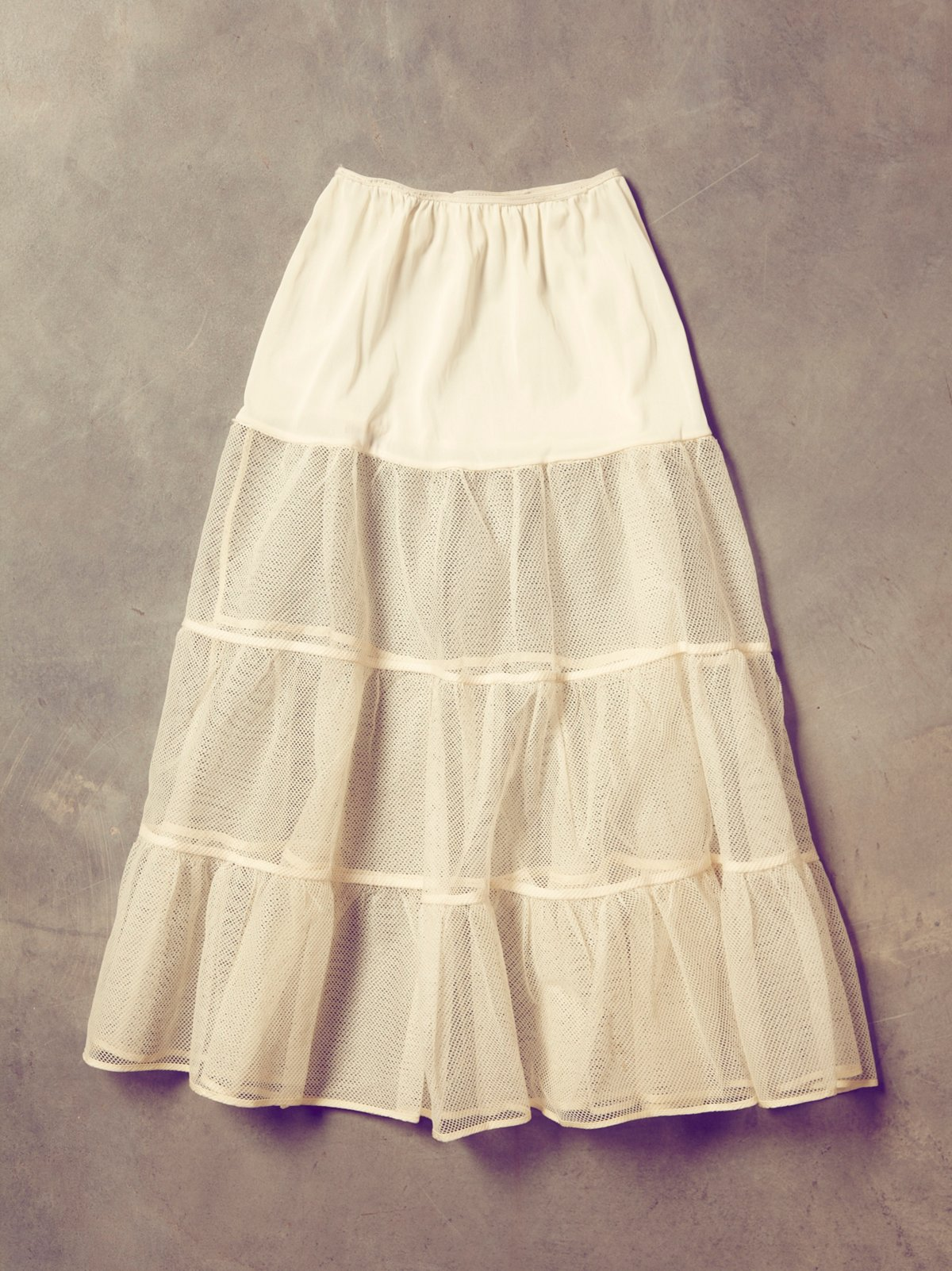 Vintage 50s Crinolin Dance Skirt
