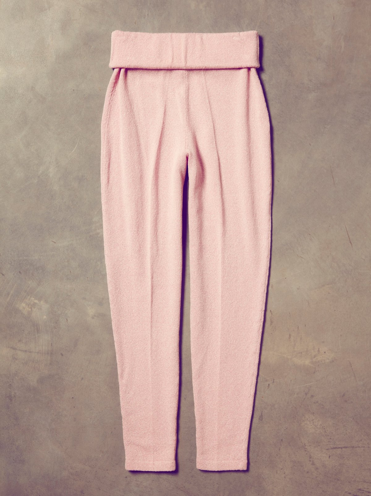 Vintage 1960s Hand Knit Warm Up Pants