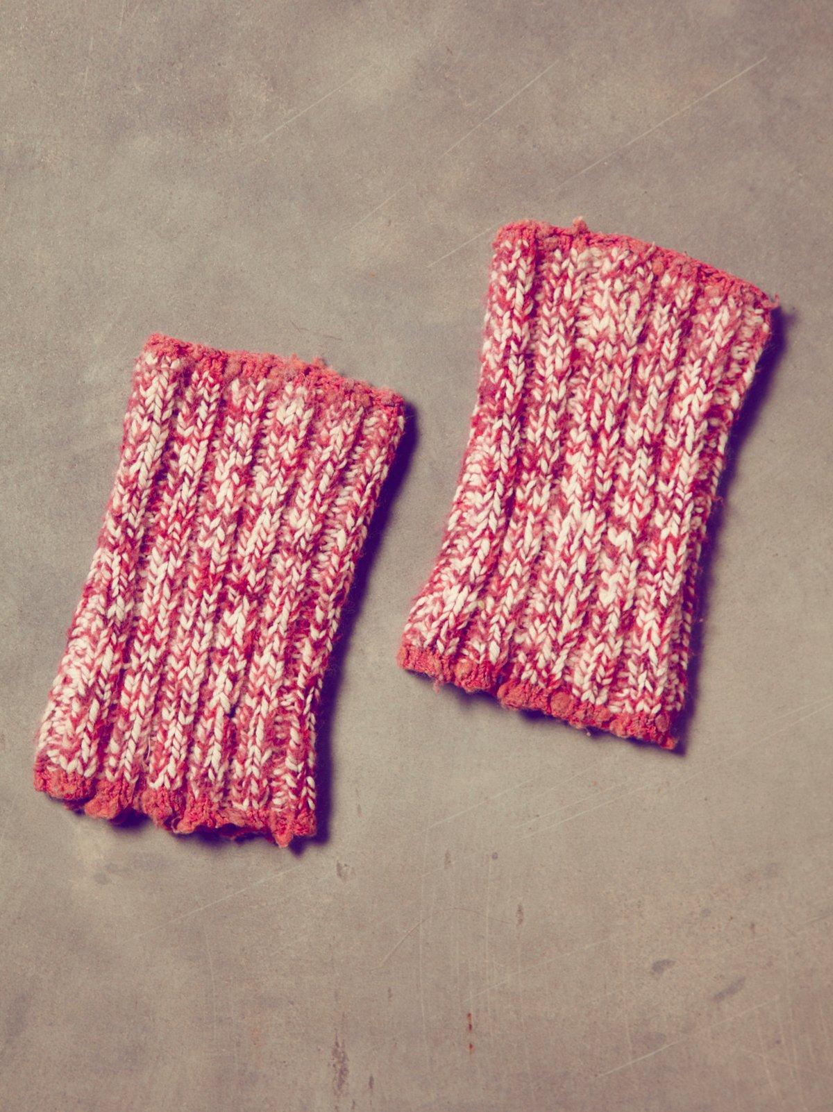 Vintage Handknit Ankle Warmers