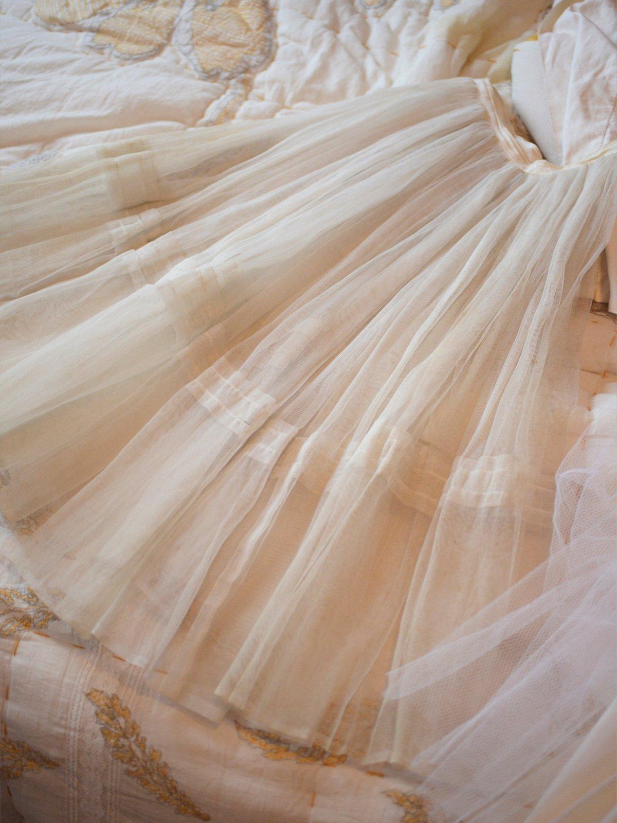 Vintage 40s Crinoline Dance Skirt