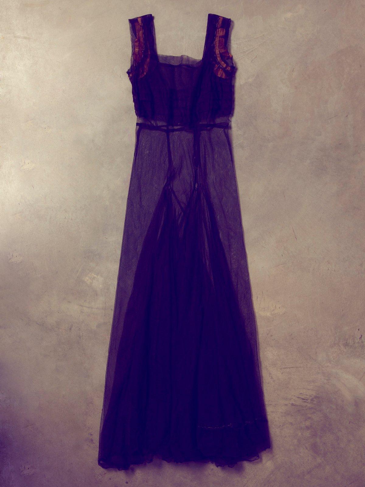Vintage 1930s Crinoline Gown