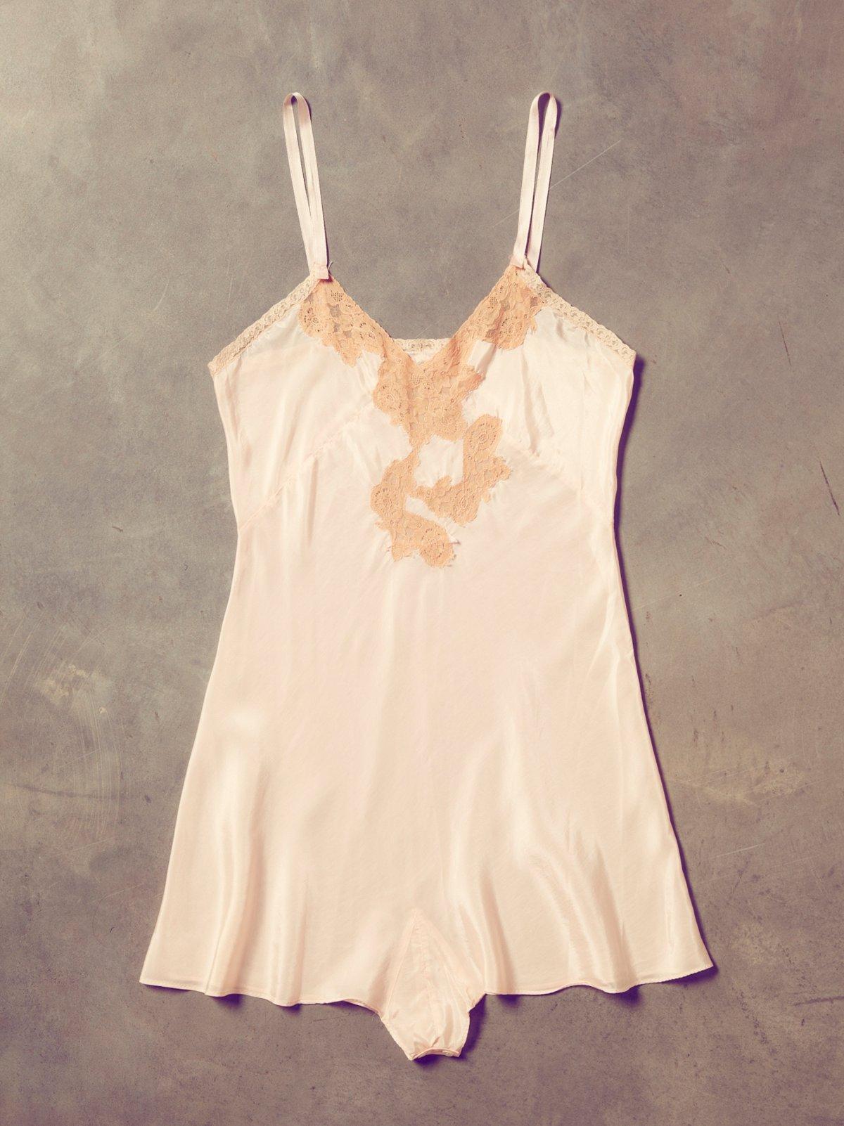 Vintage 1950s Pink Slip Dress