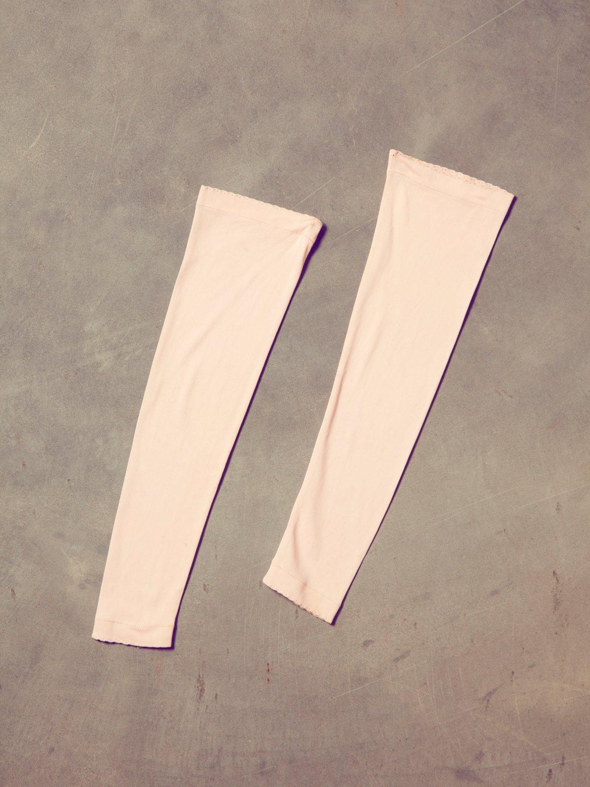 Vintage 40s Pink Fingerless Gloves