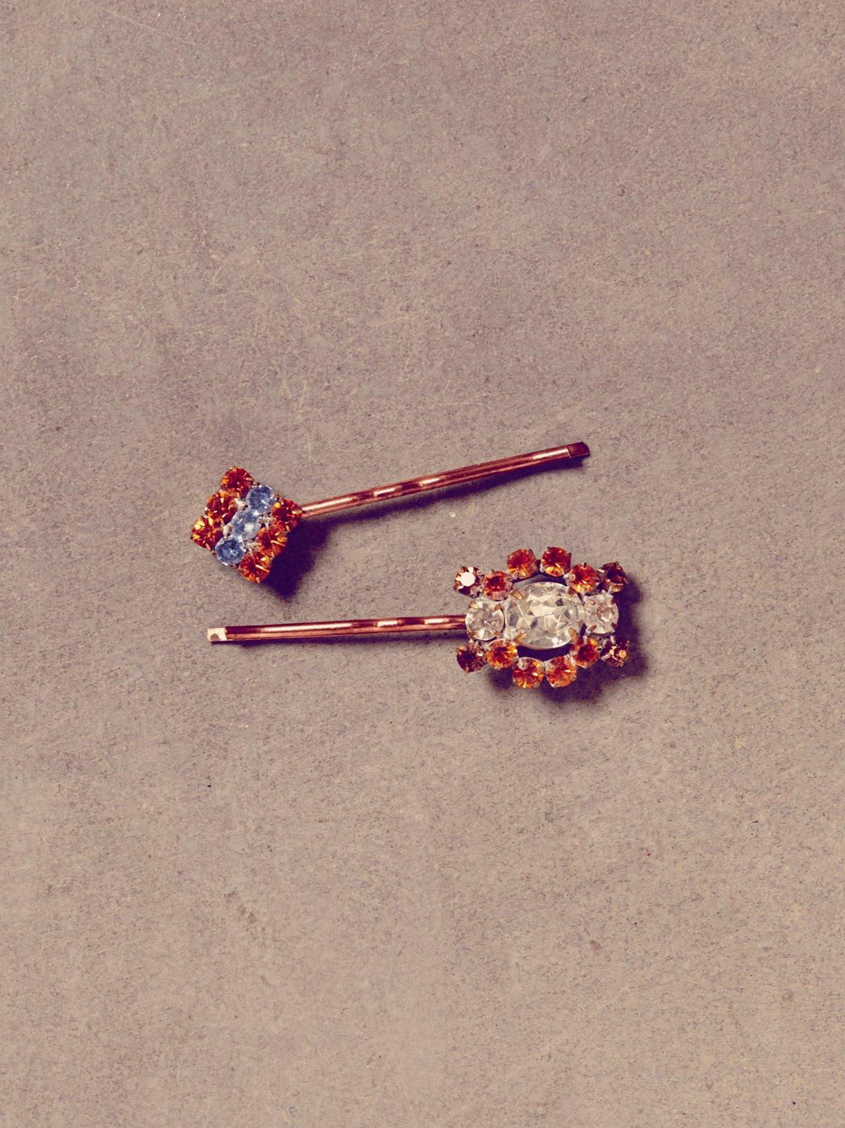 Vintage 60s Hair Pins