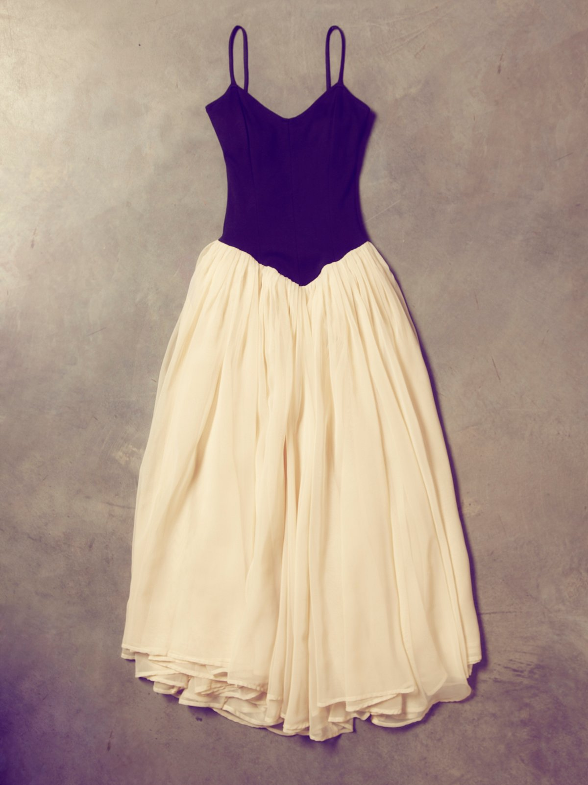 Vintage 70s Norma Kamali Ballerina Dress