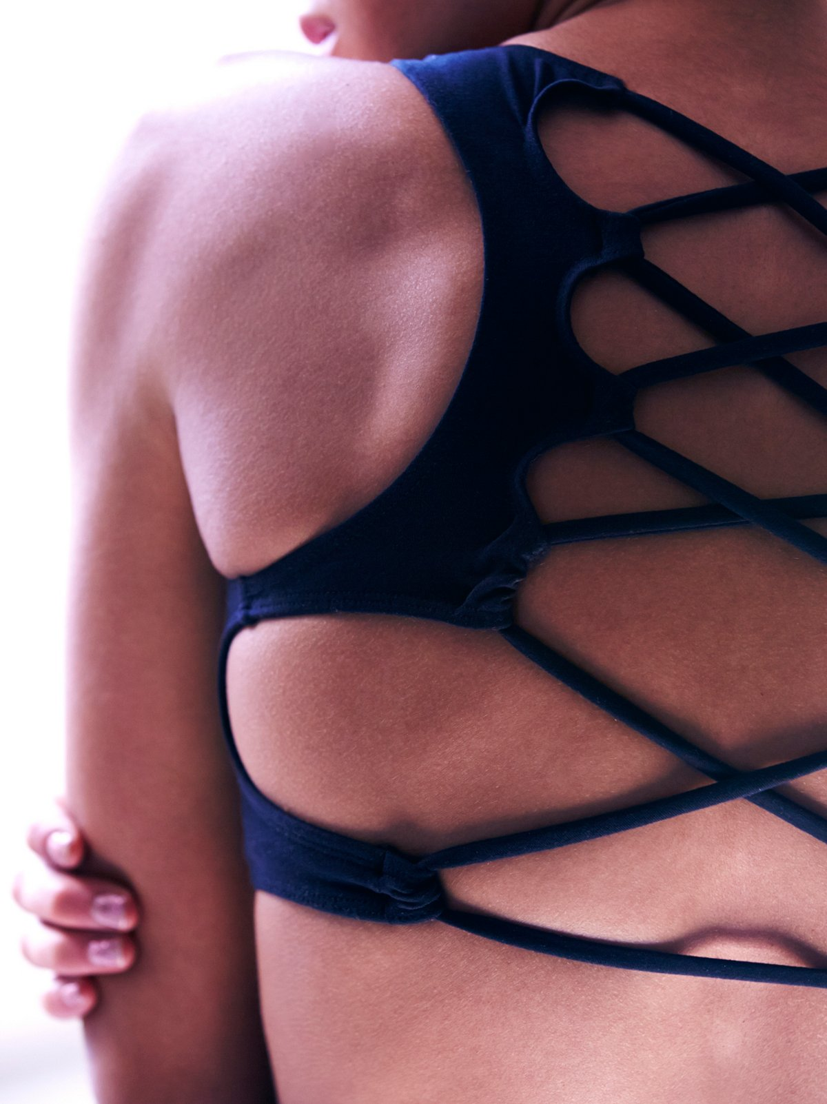 Lattice Back Bra