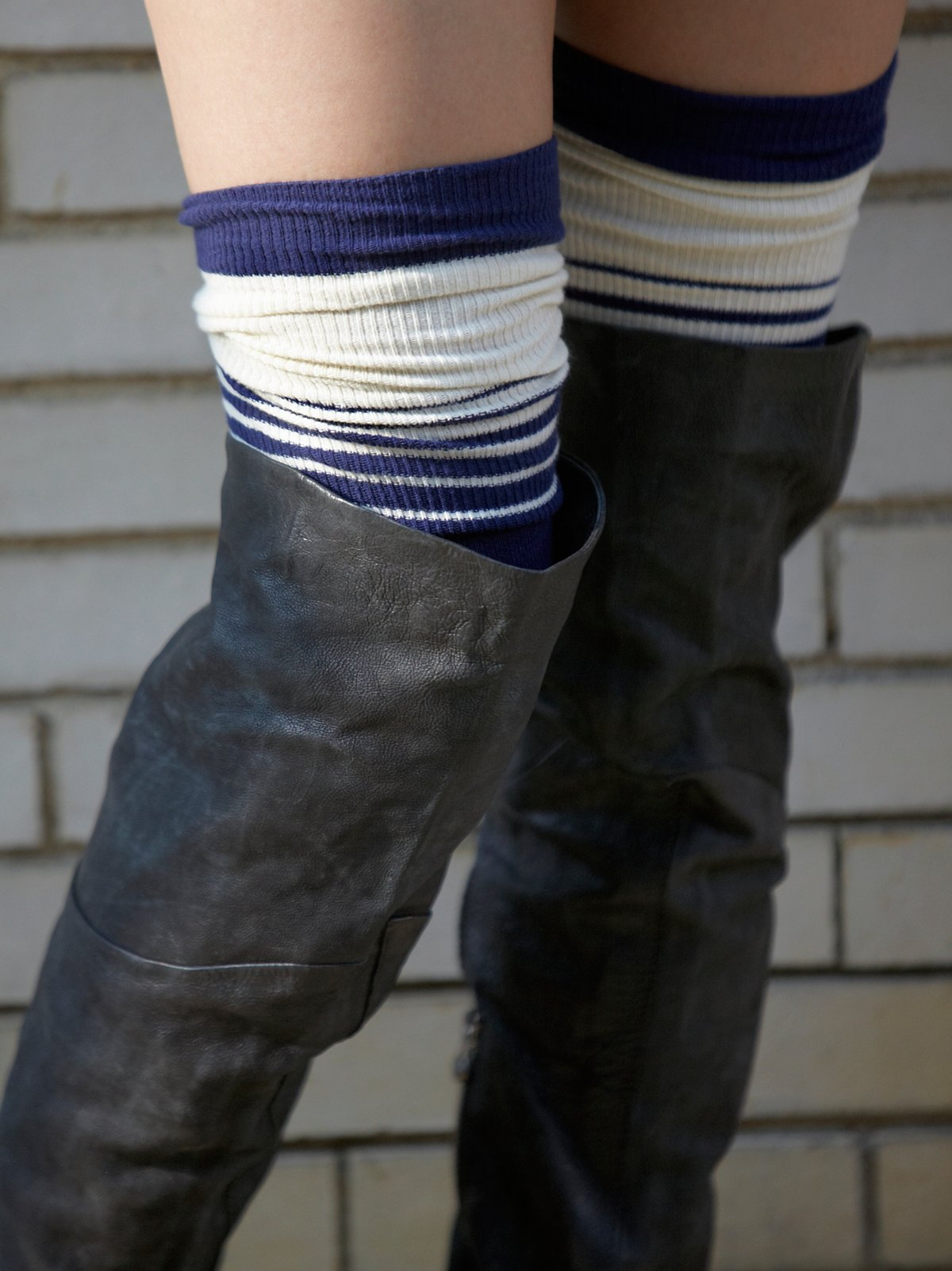 Switch Top Over the Knee Sock
