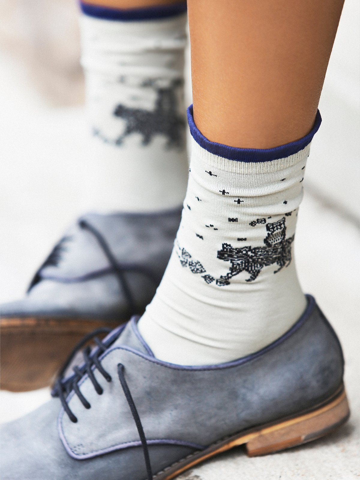 Rotary Club Crew Sock