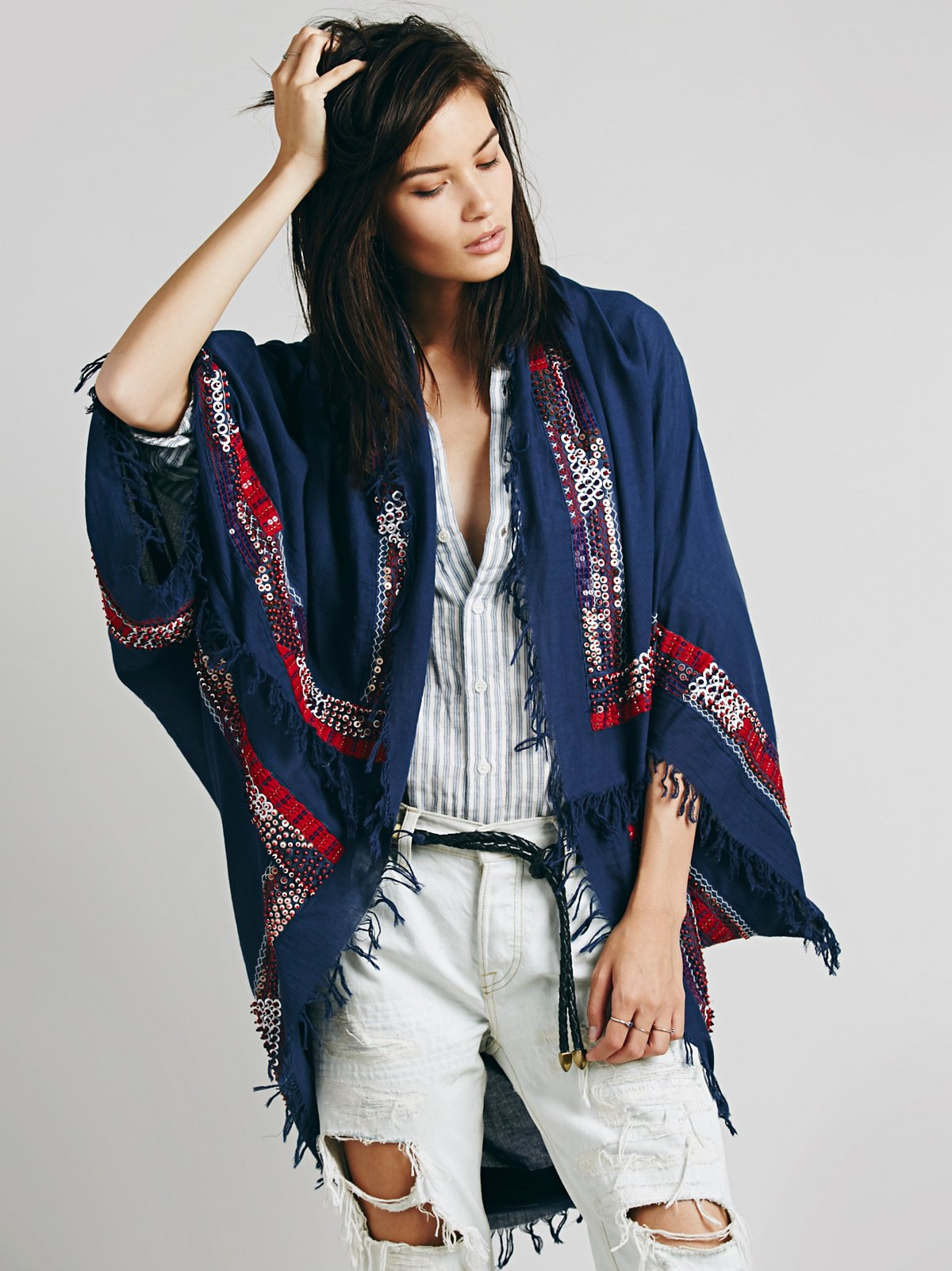 Cody Embellished Kimono