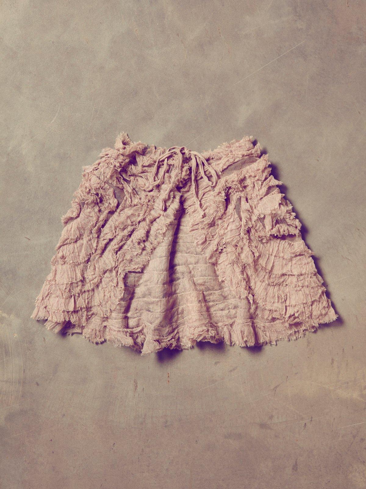 Vintage Purple Ruffle Dance Shawl