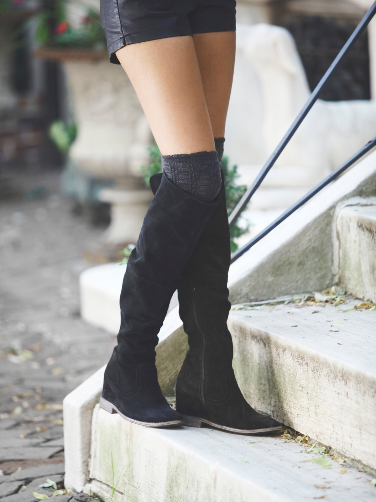 Tavian Tall Wedge Boot