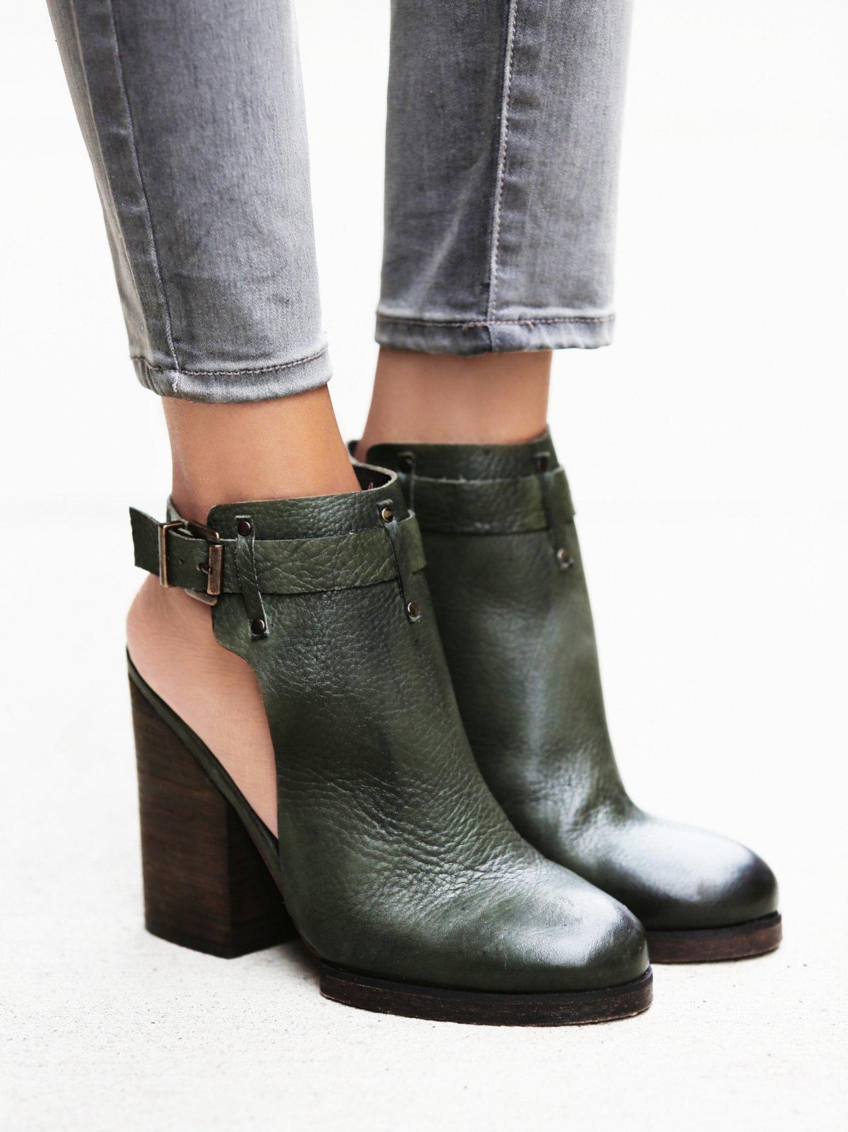 Breton高跟靴