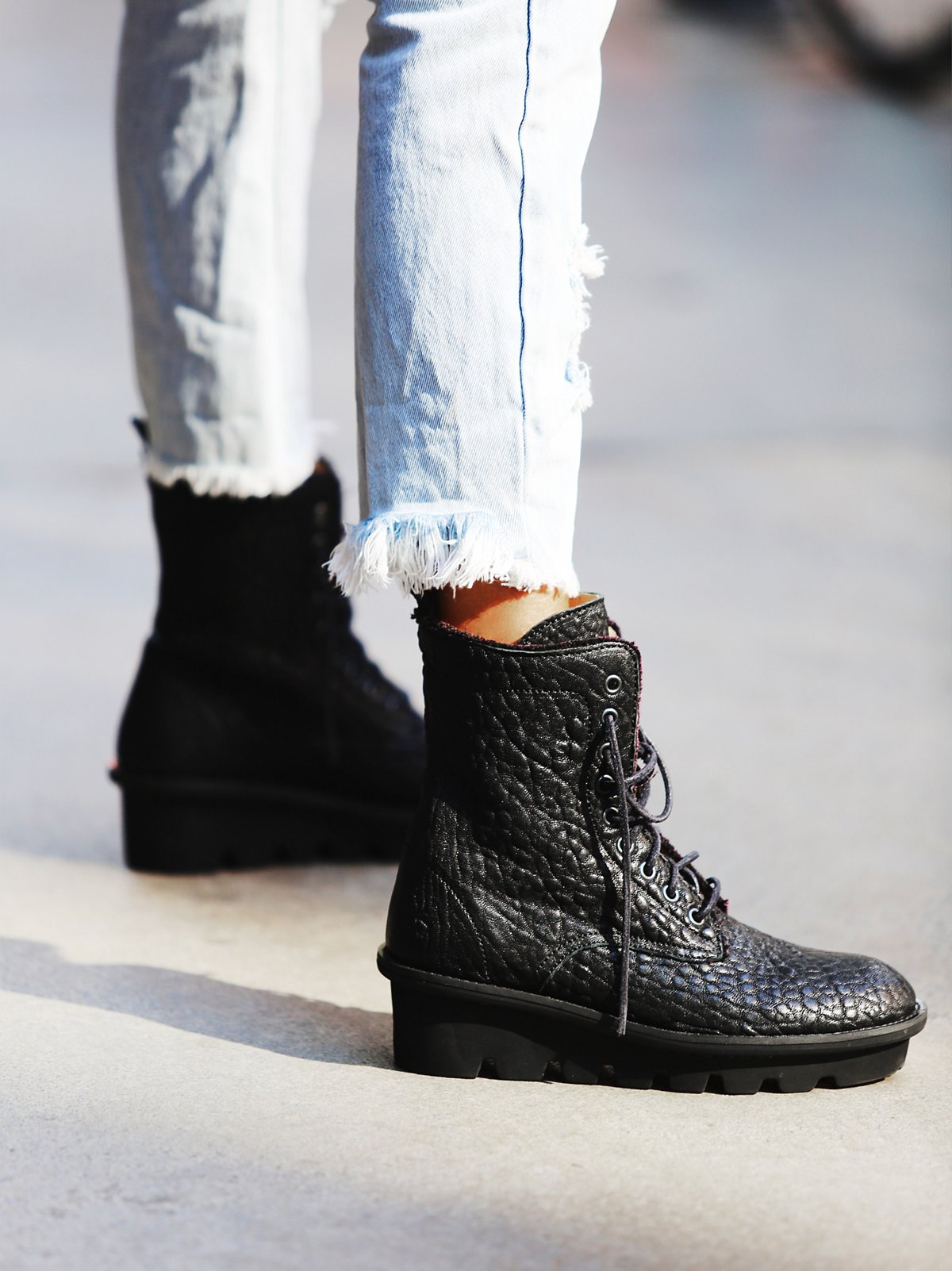 Defender Lace Up Boot