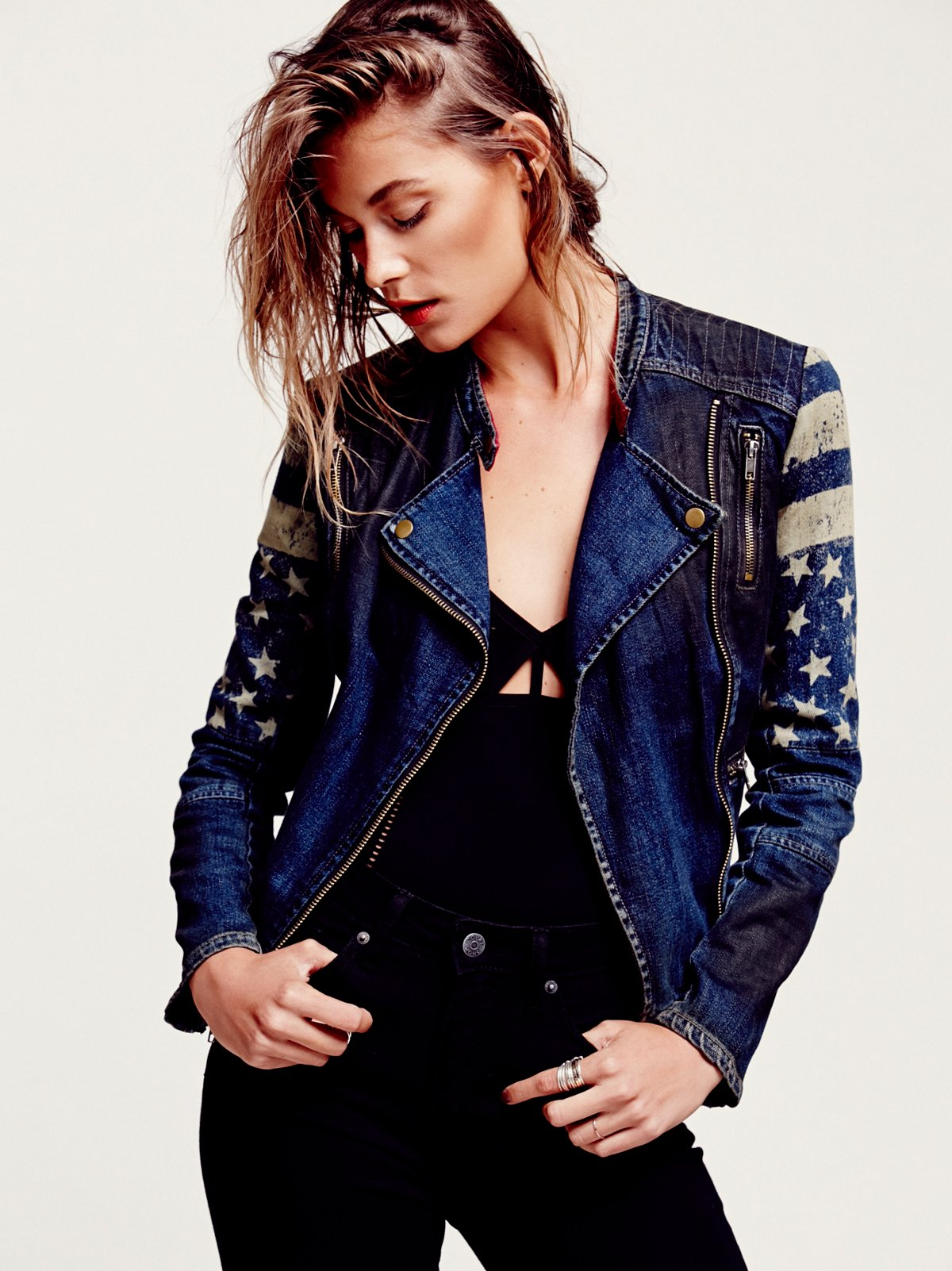Americana Denim Jacket