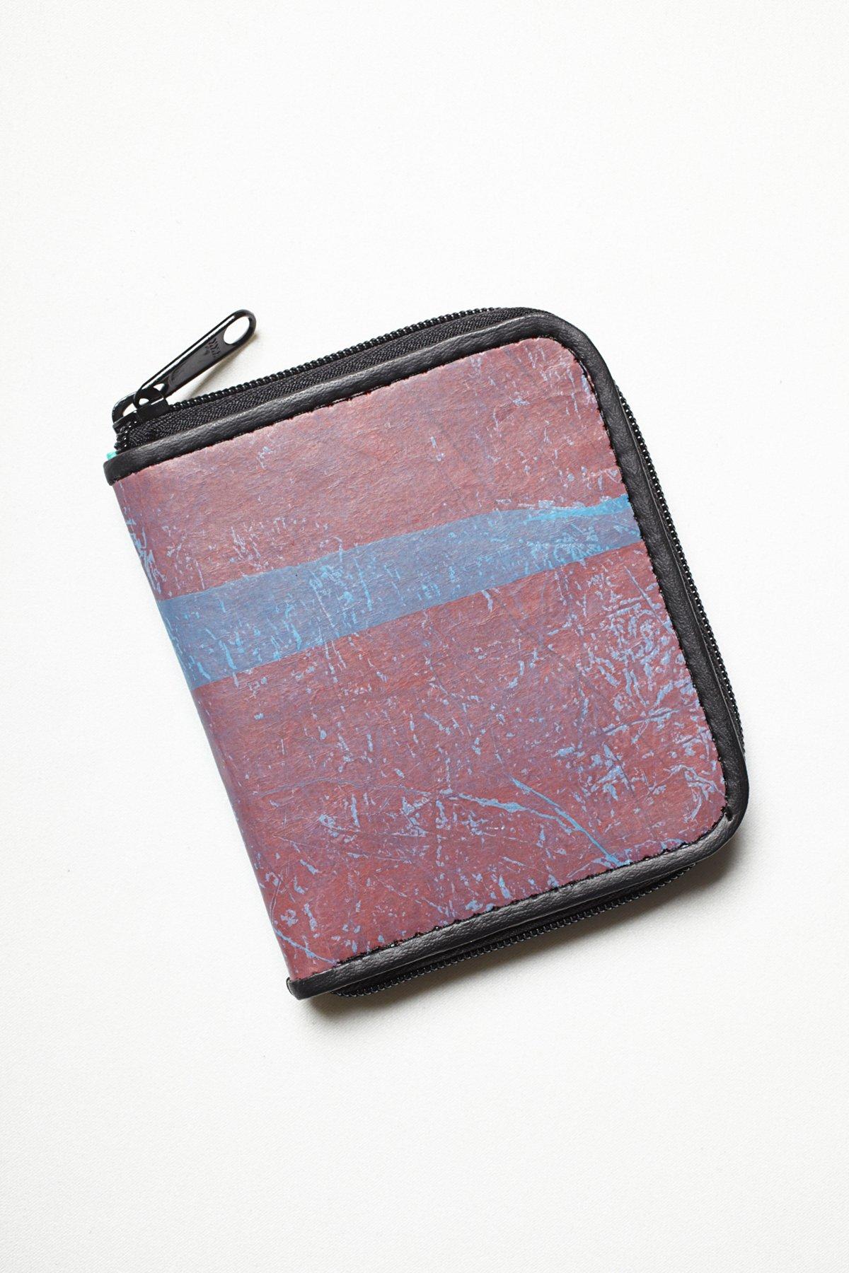 Shorty Color Block Wallet
