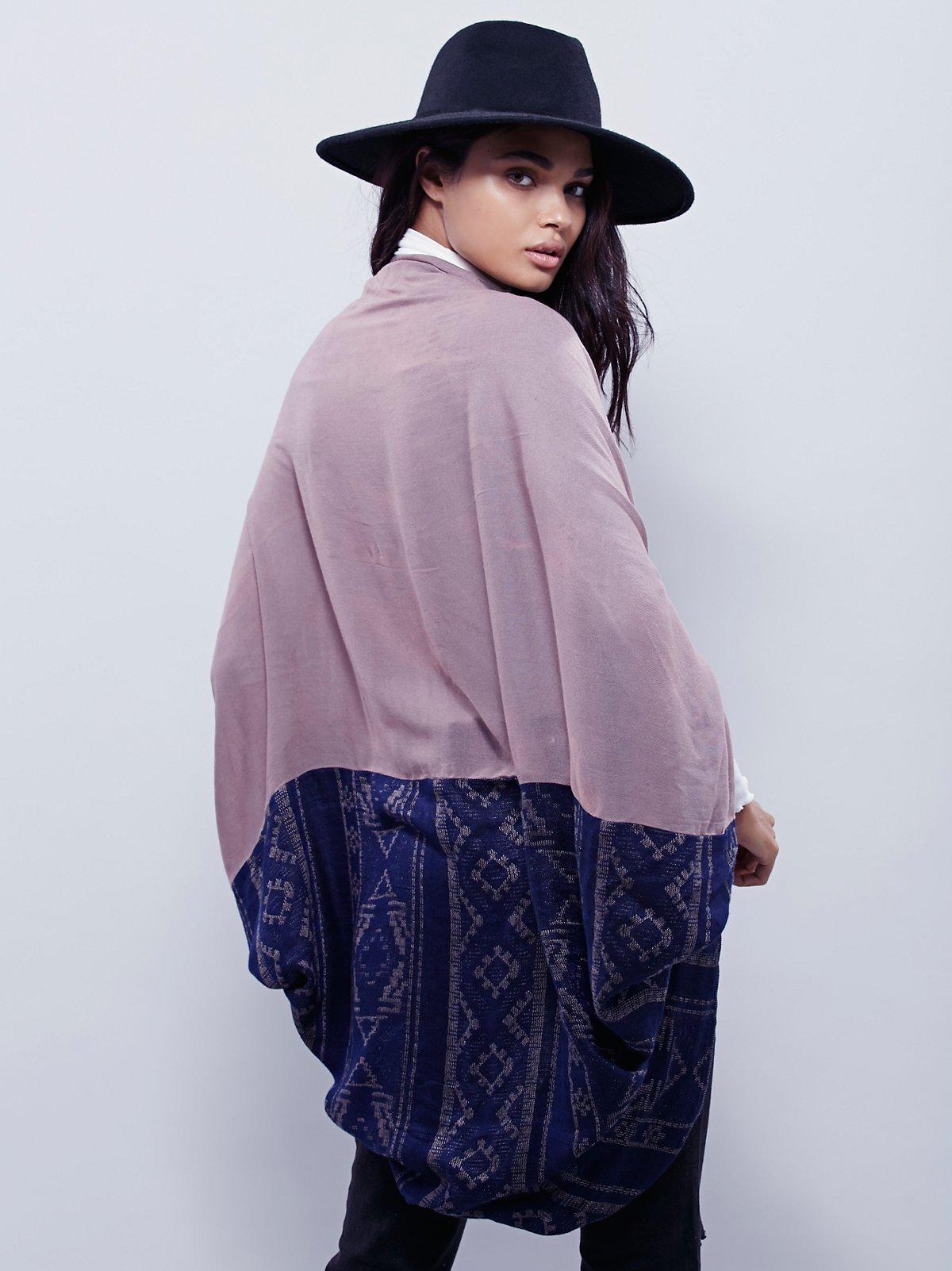 Sammy Raw Edge Kimono