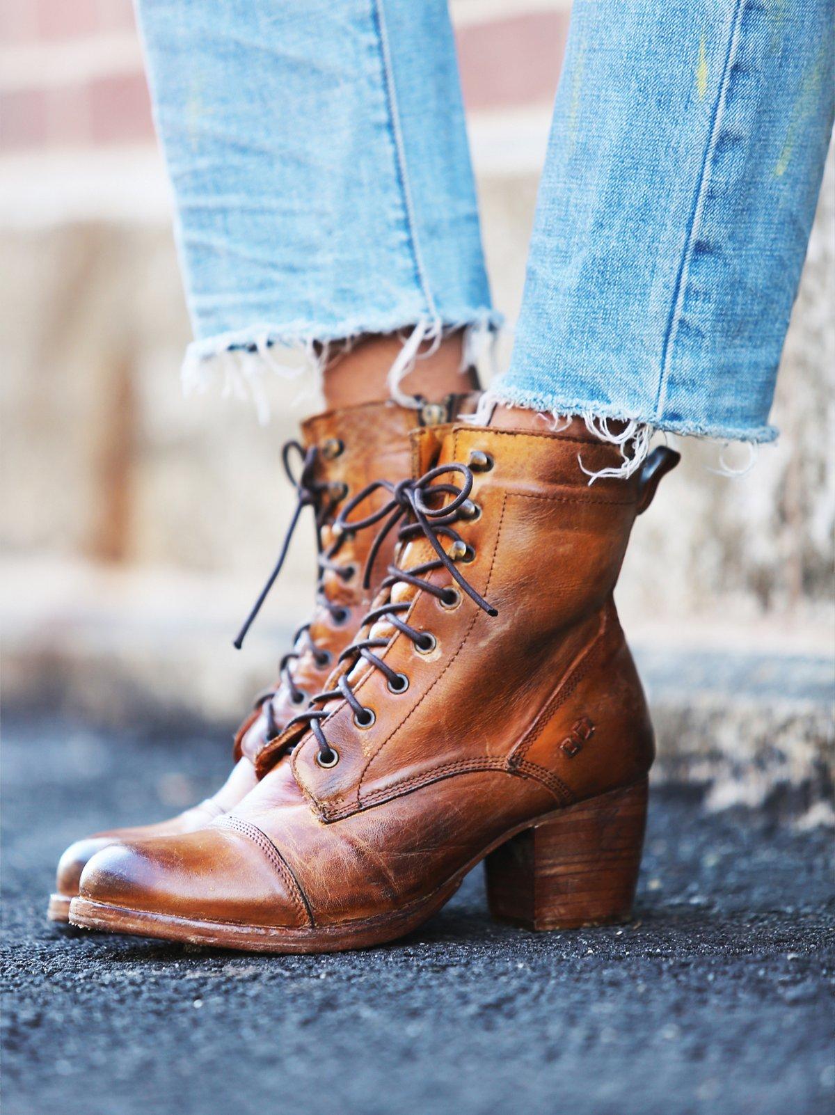 Miner系带靴
