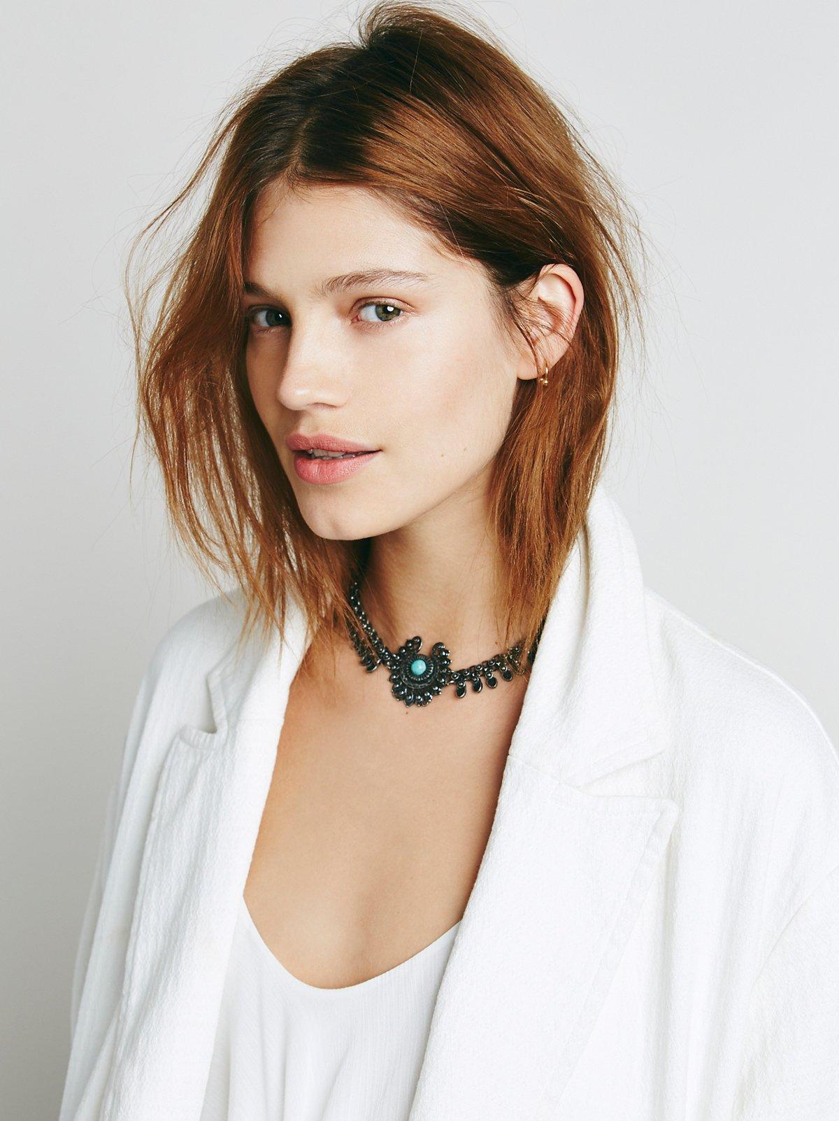 Marie金属颈链
