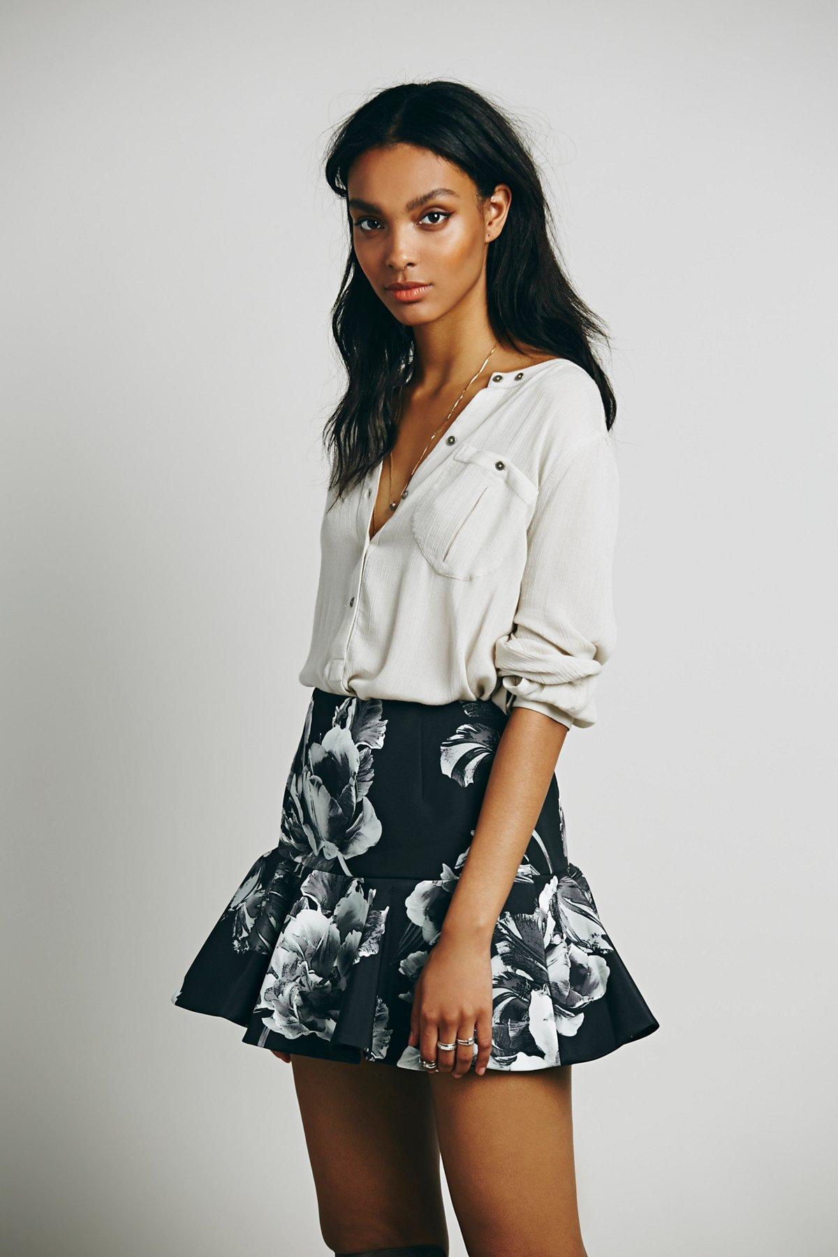 Better Off Alone Skirt