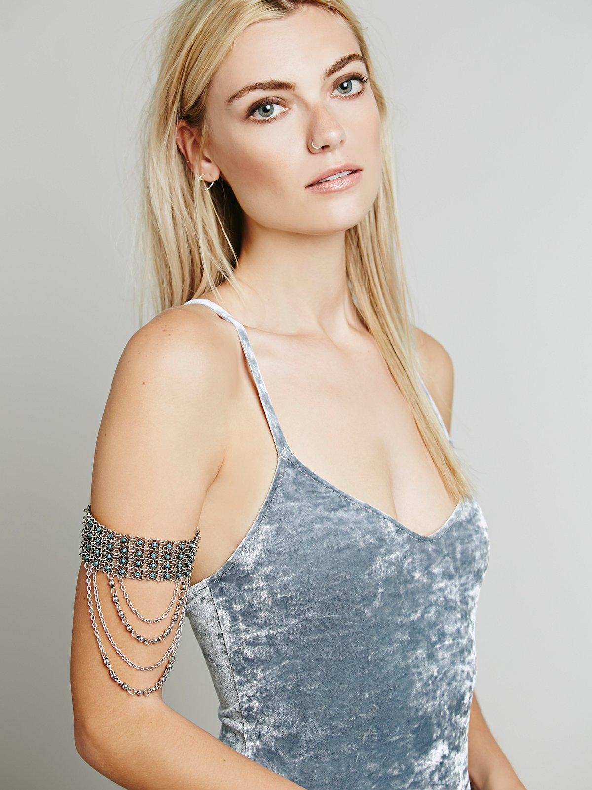 Floral Lattice Armband