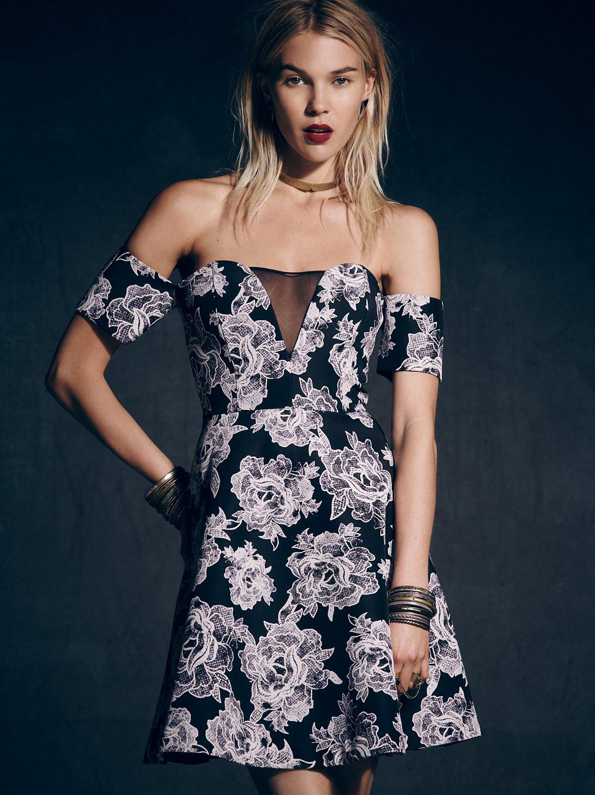 Floral Ballerina Dress