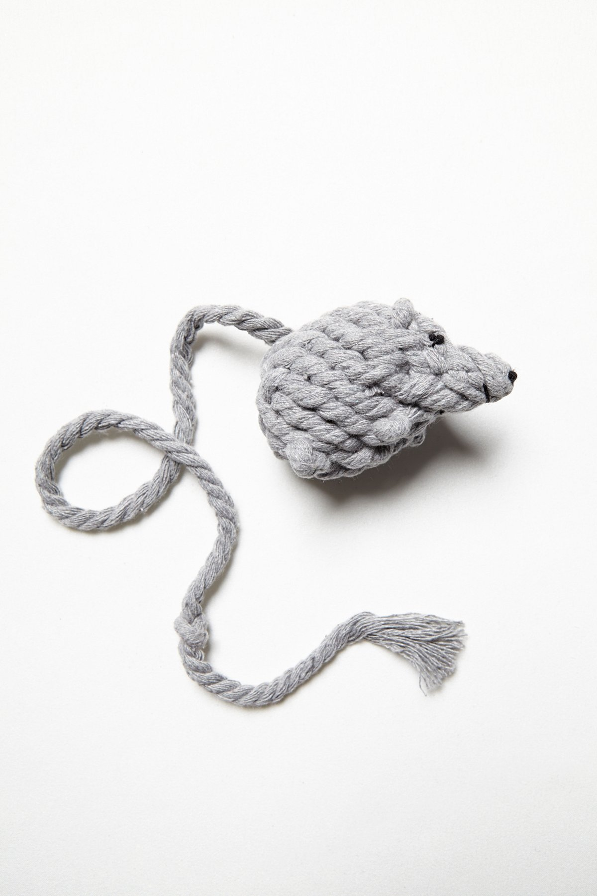 Rope Mouse Cat Toy