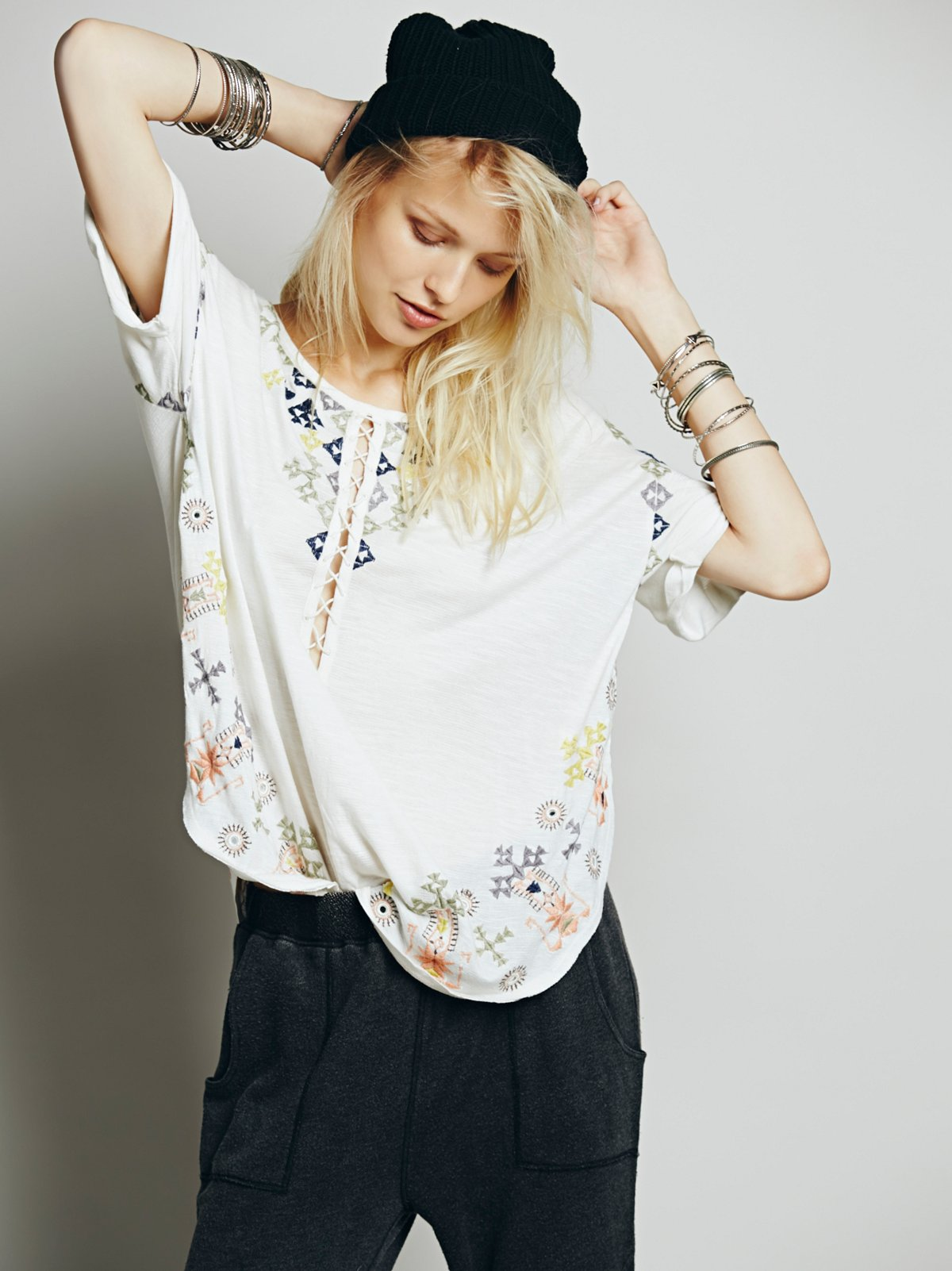 Rosalita Embroidered Top