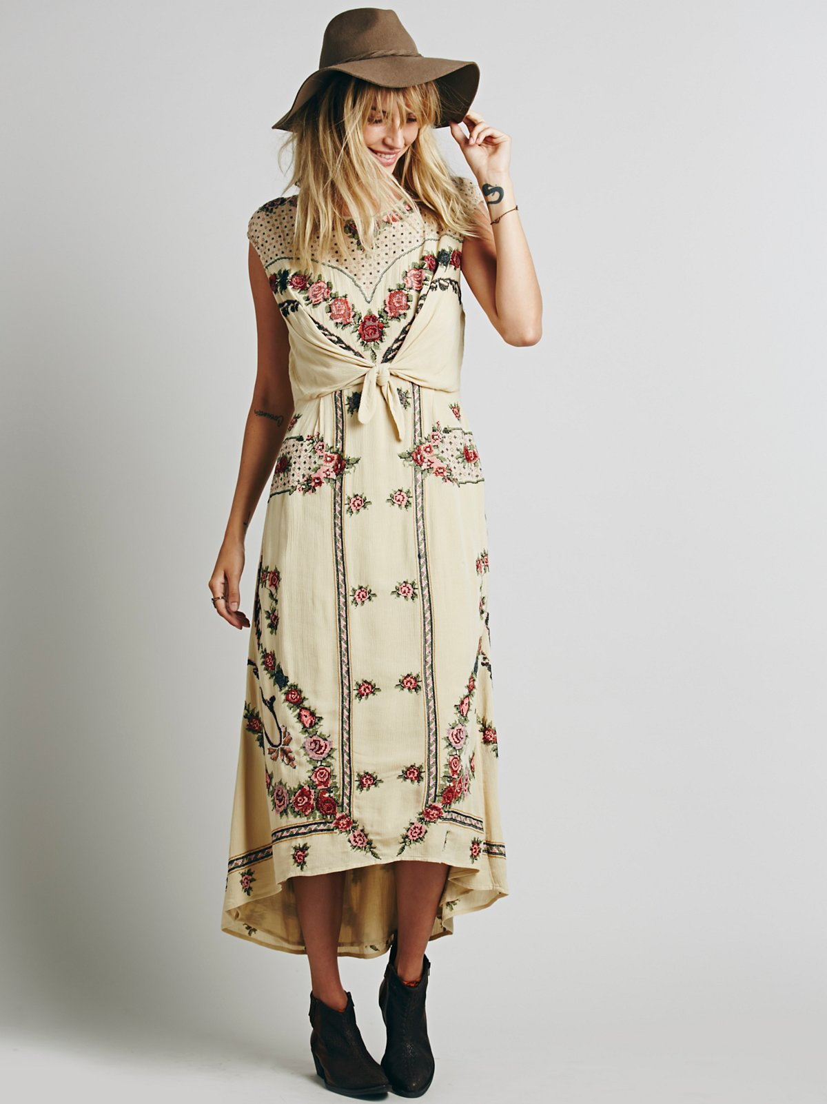 FP New Romantics Tie Knot Dress