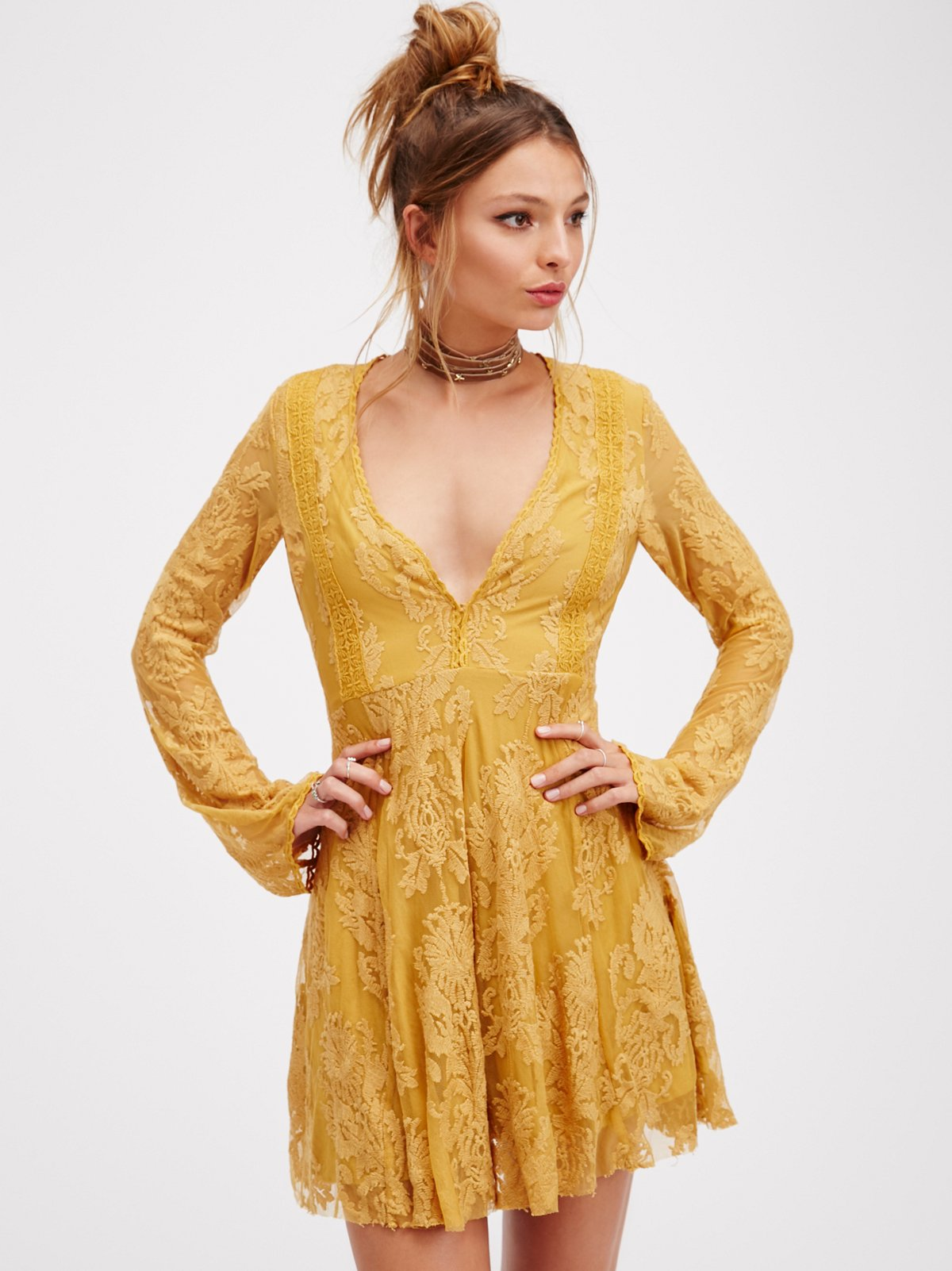 Reign Over Me Lace Dress At Free People Clothing Boutique