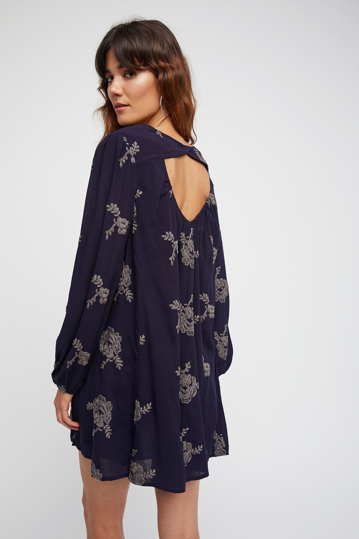 Embroidered Austin Dress