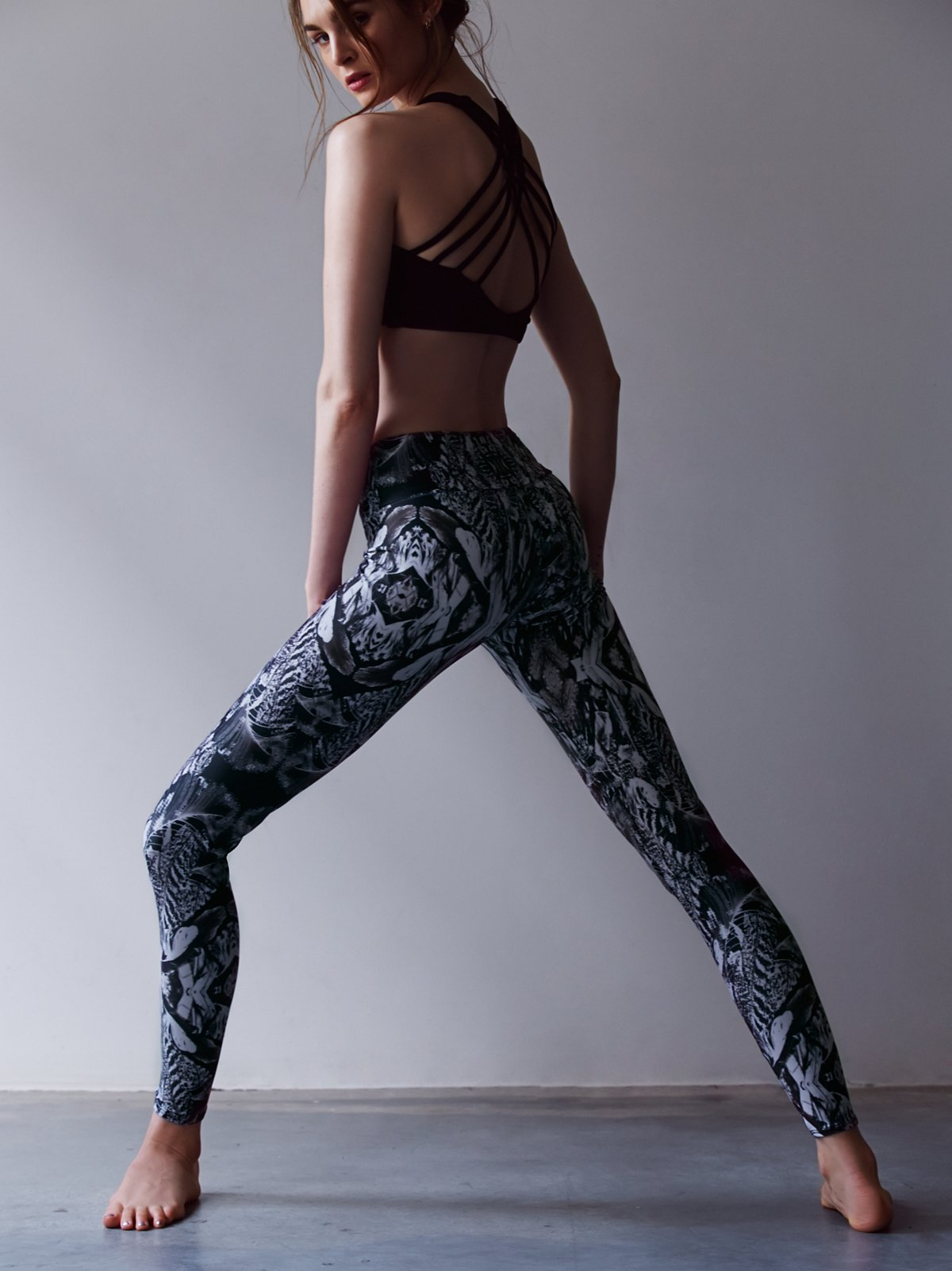 Printed Long Legging