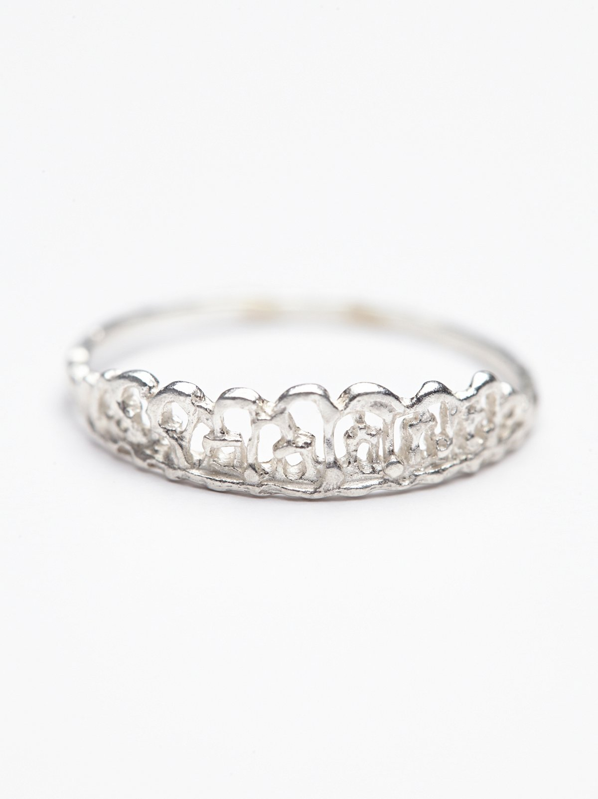 Dipped Lace Ring