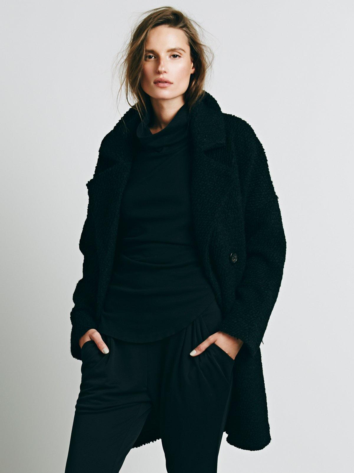 Textured Overcoat