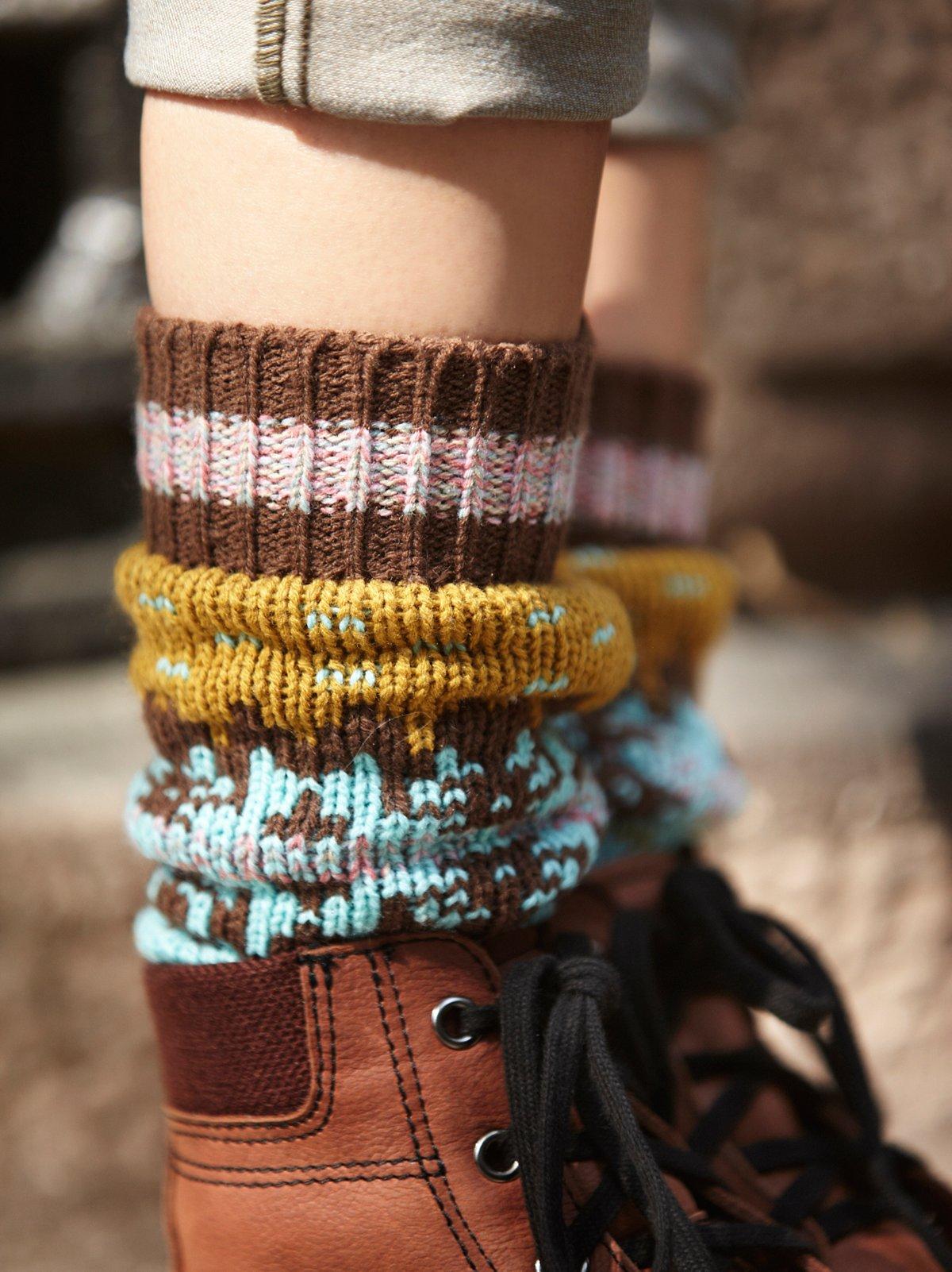 Cozy Nepali Sock