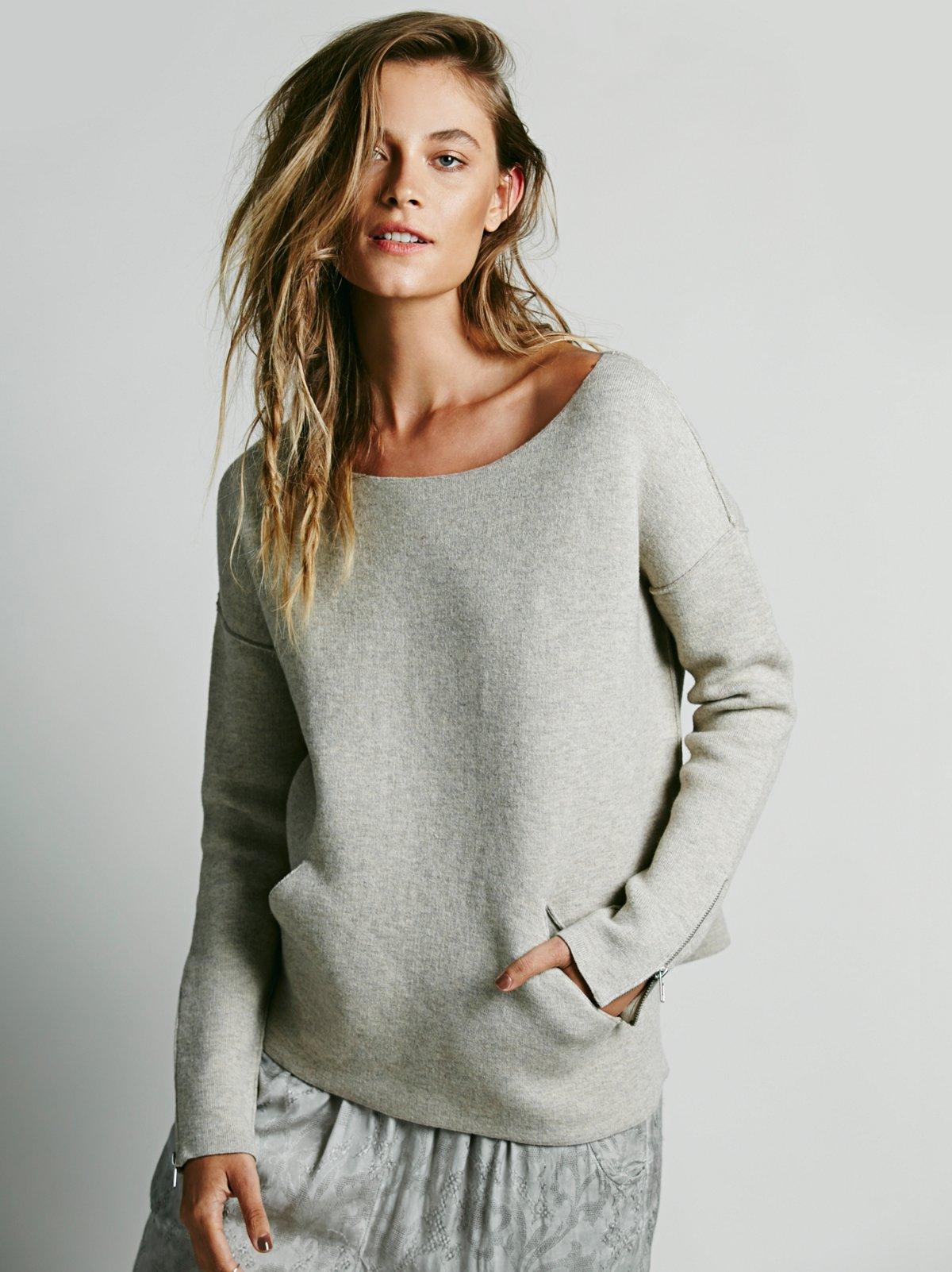 Scuba Solid Pullover