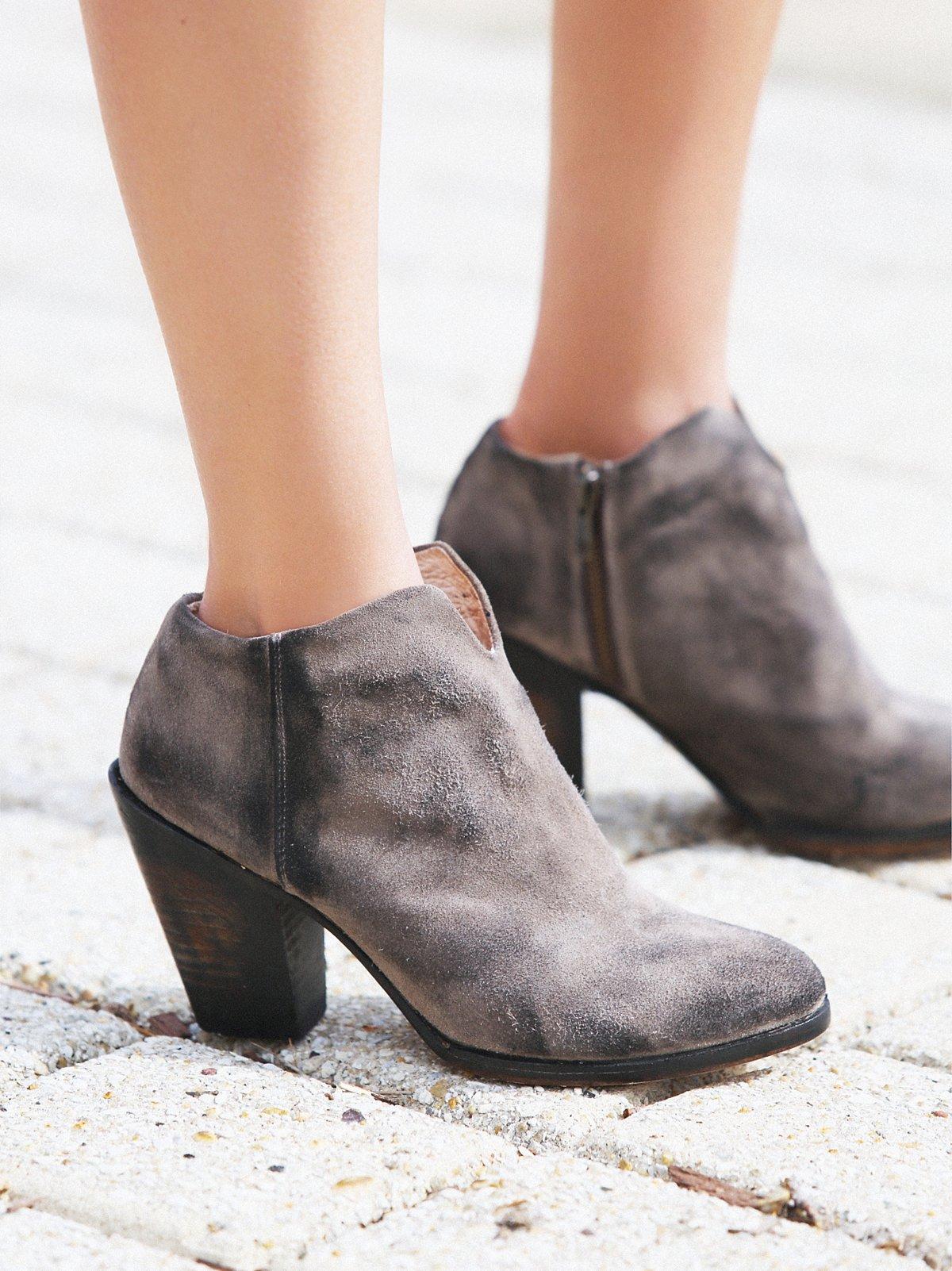 Detroit及踝靴