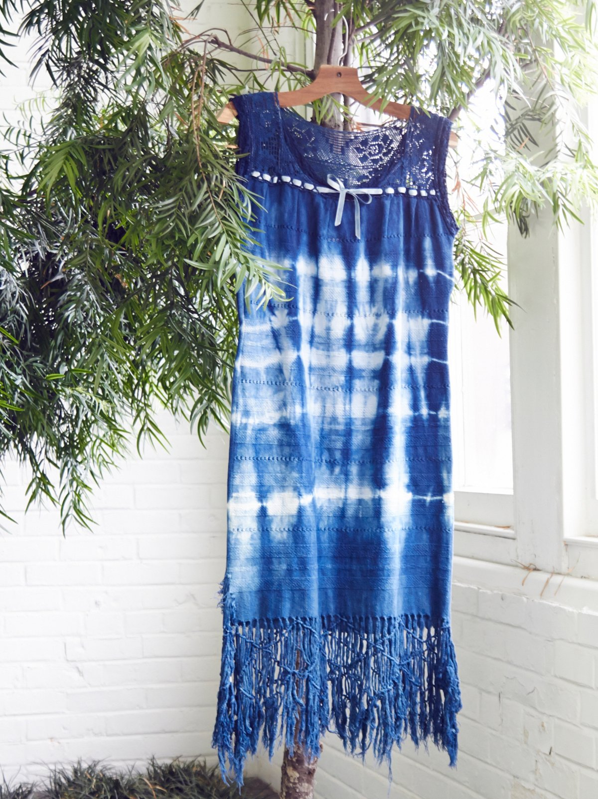Vintage 1960s Hand Dyed Dress