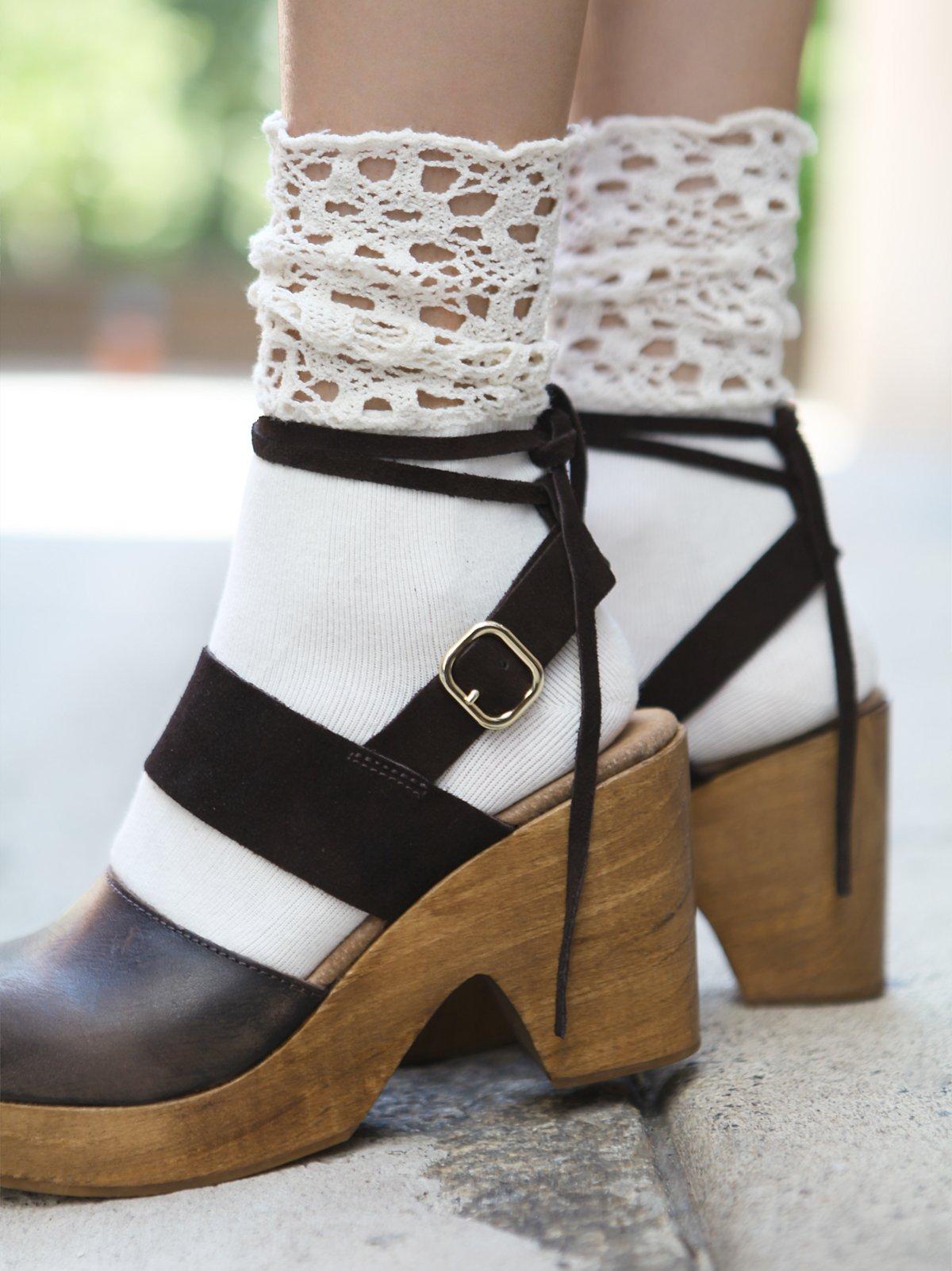 Giselle Crochet Anklet