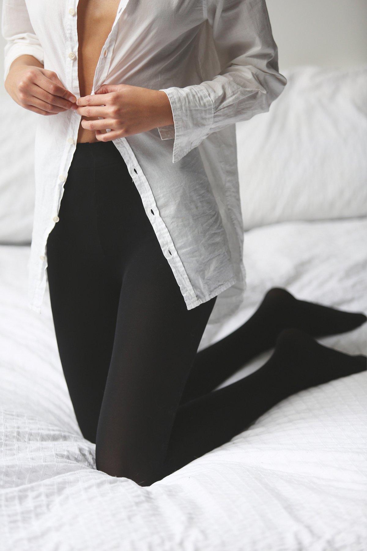 不透明日常裤袜