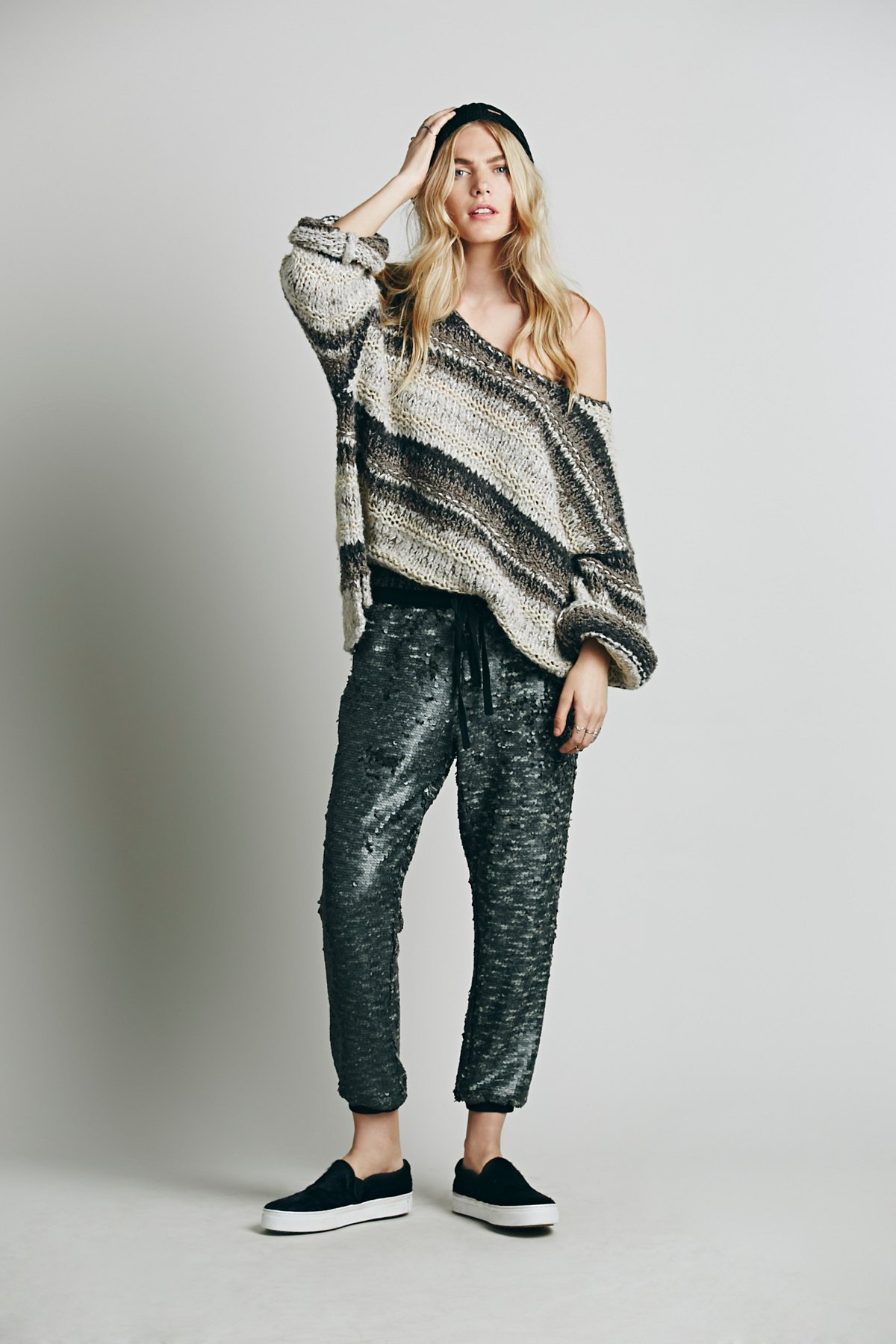 Scintilating Sequin Jogger