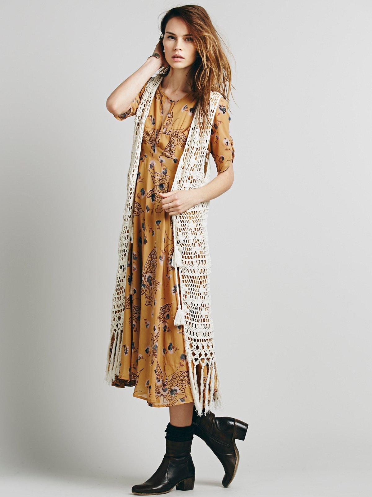 Chelsea Crochet Vest
