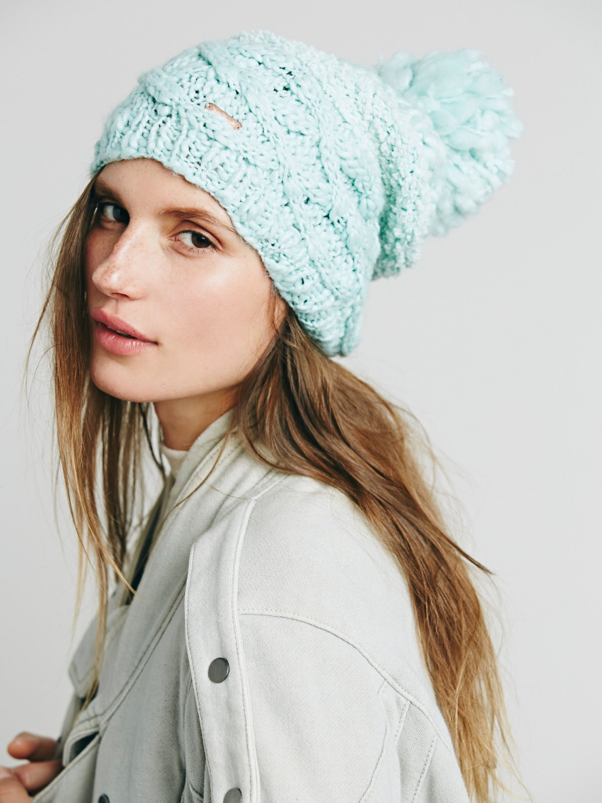 Mischa Patched Beanie
