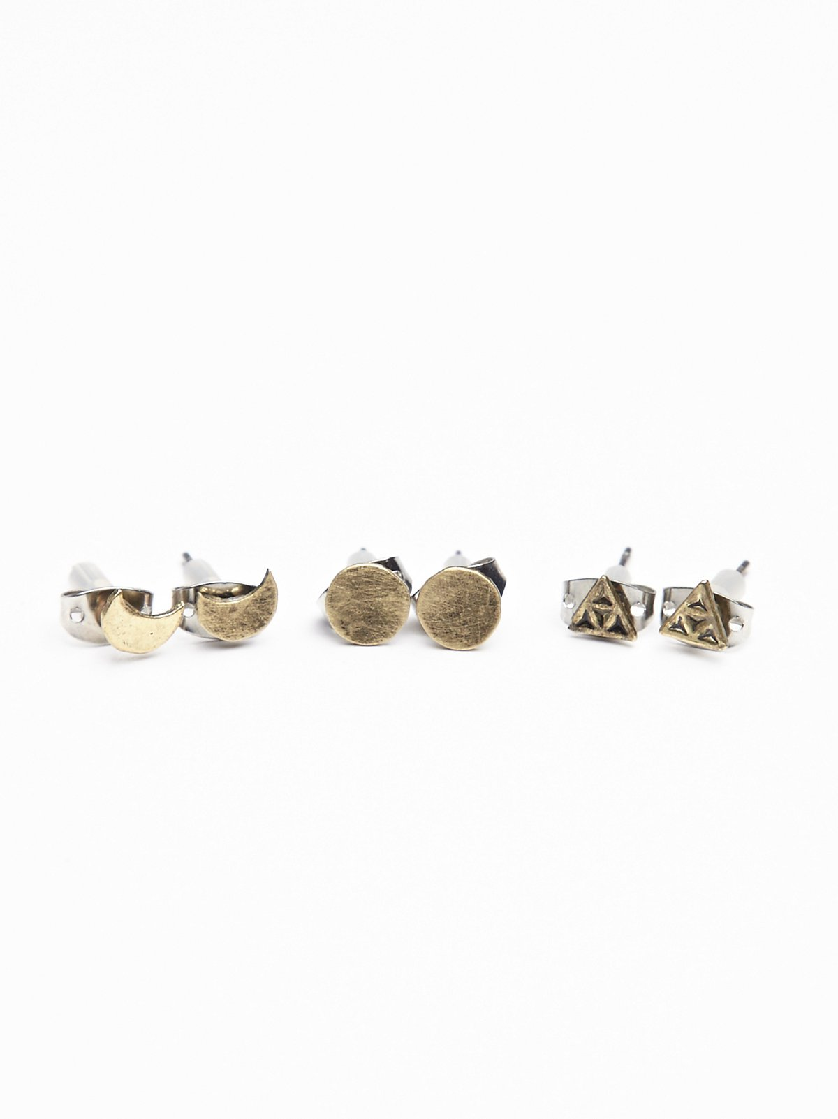Metal Icon Stud Set