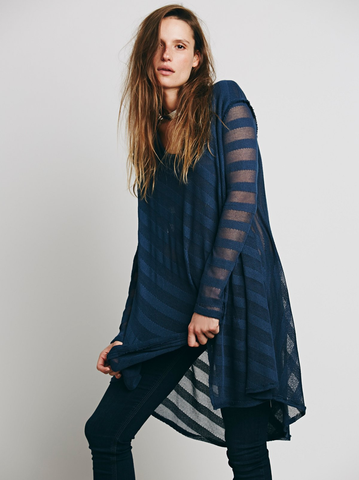 We The Free Shadow Stripe Tunic