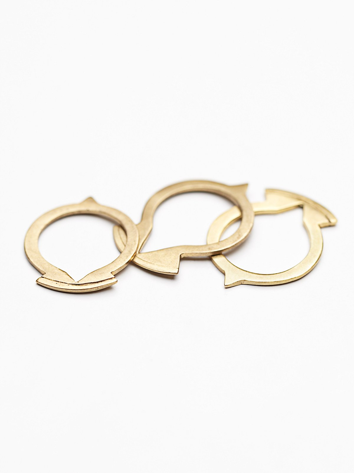 Stackable Tuareg Rings