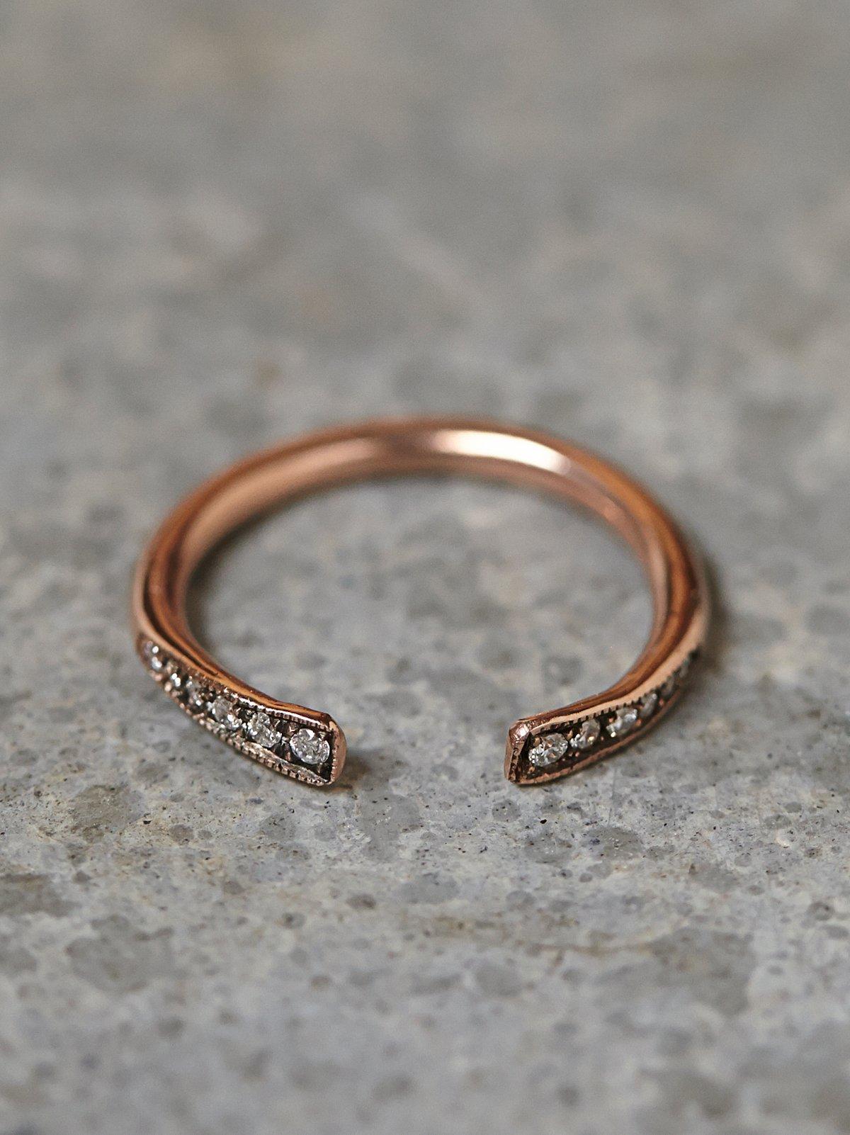 Rising Diamond Ring