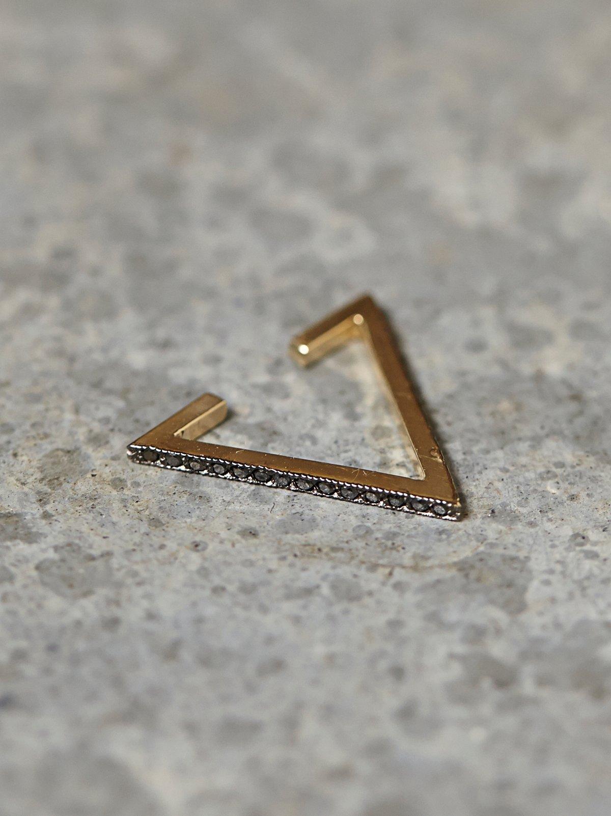 Diamond Triangle Ear Cuff
