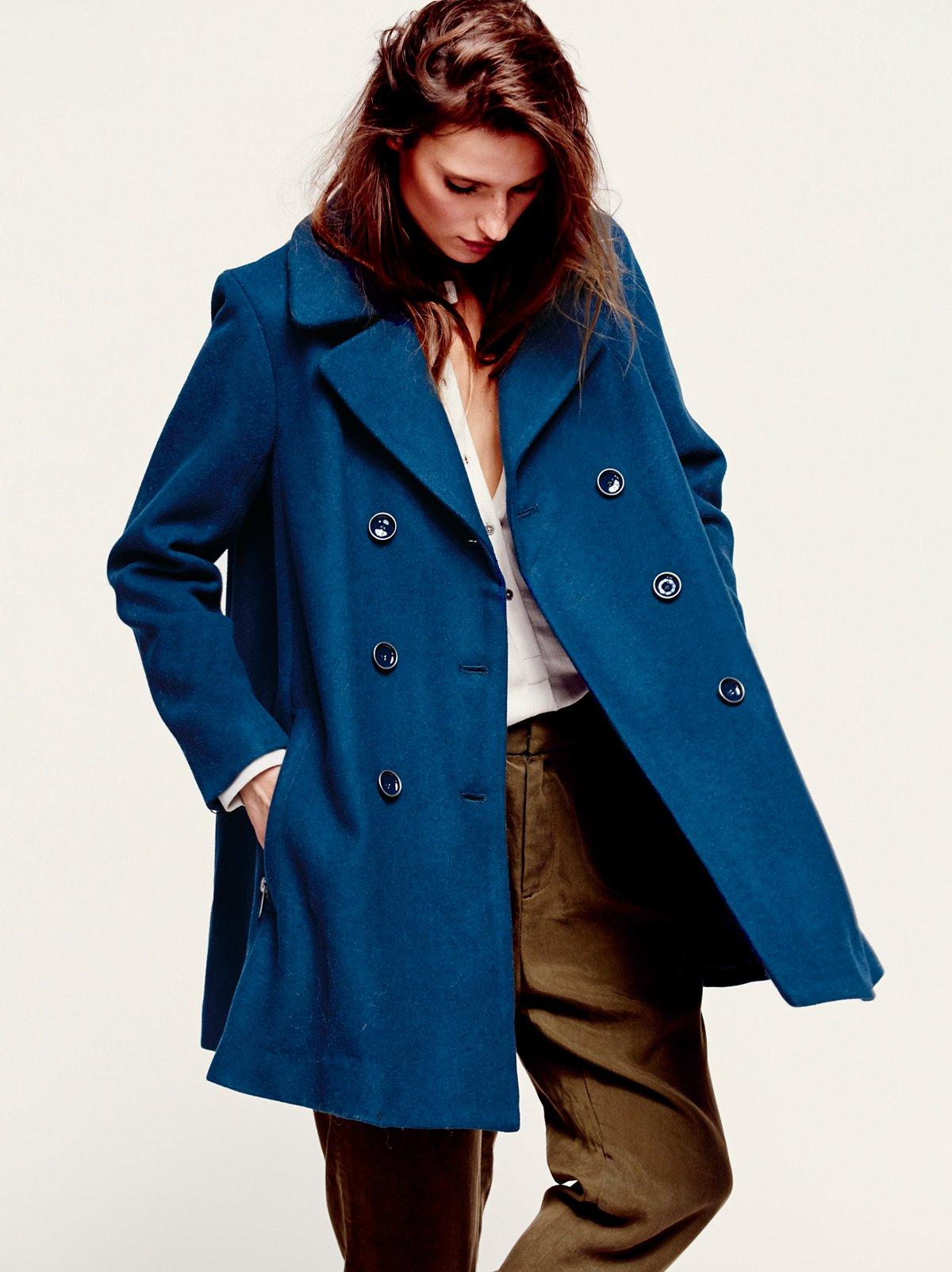 Zip to My Lou Swing Coat